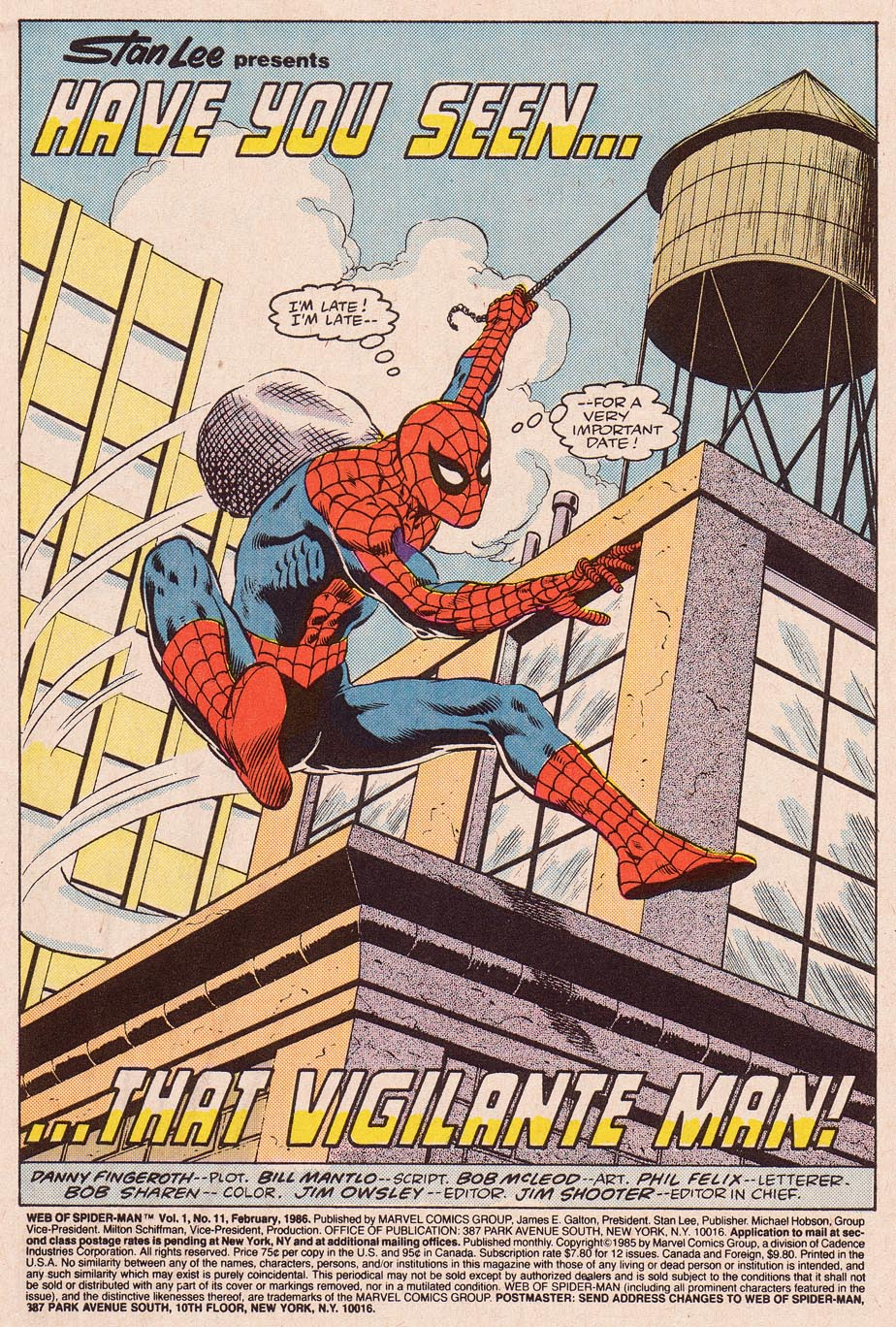 Web of Spider-Man (1985) Issue #11 #21 - English 2