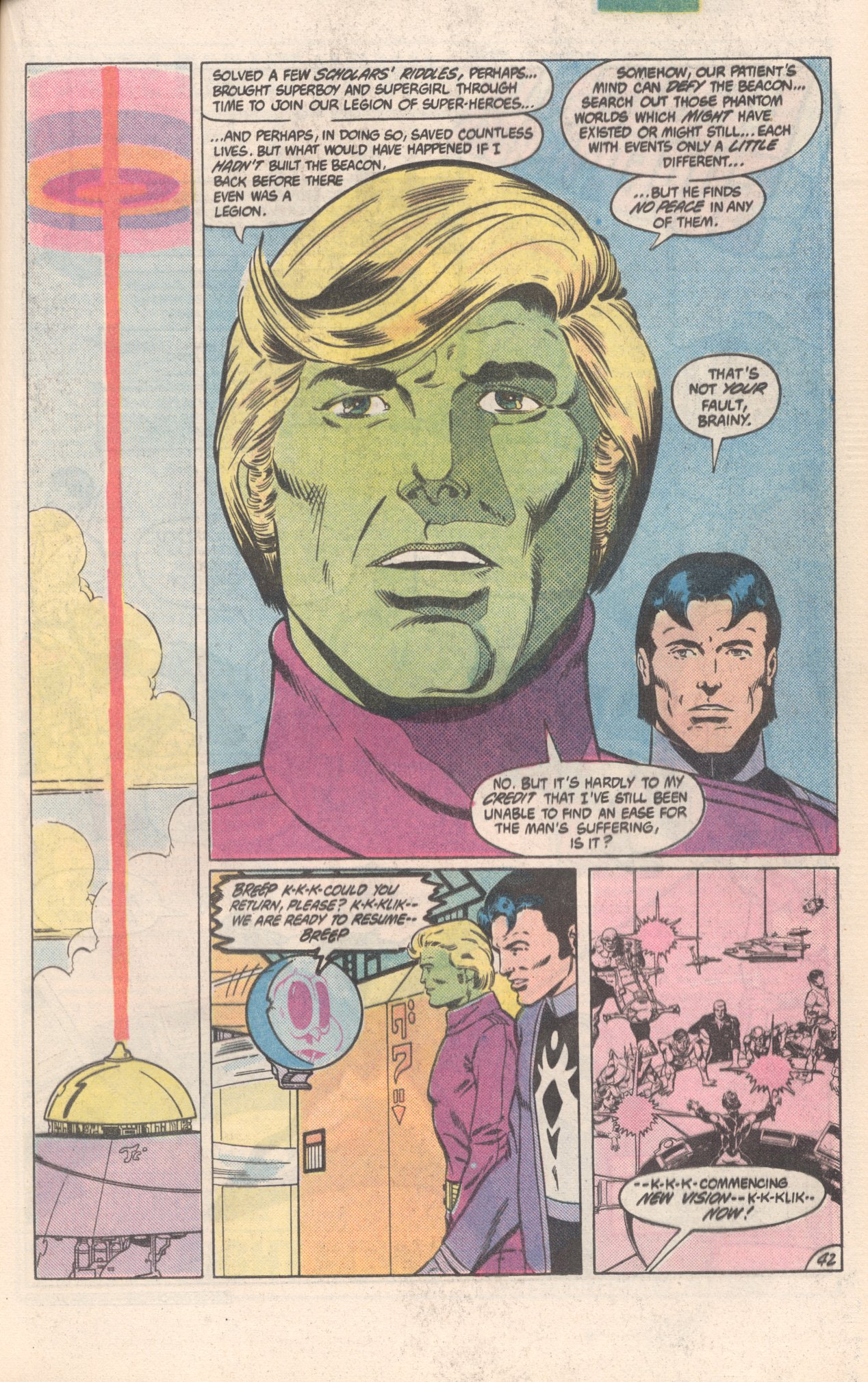 Legion of Super-Heroes (1980) 300 Page 42