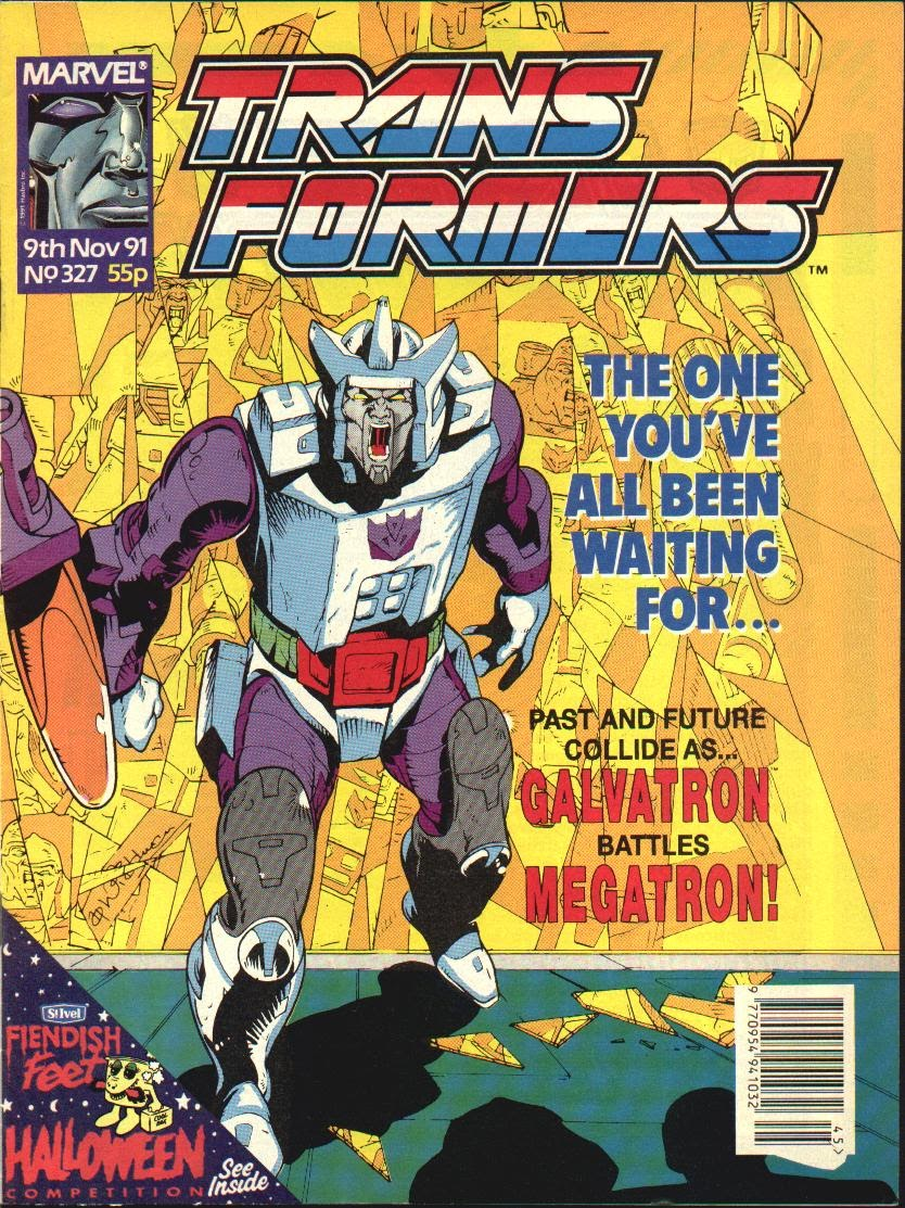 The Transformers (UK) 327 Page 1