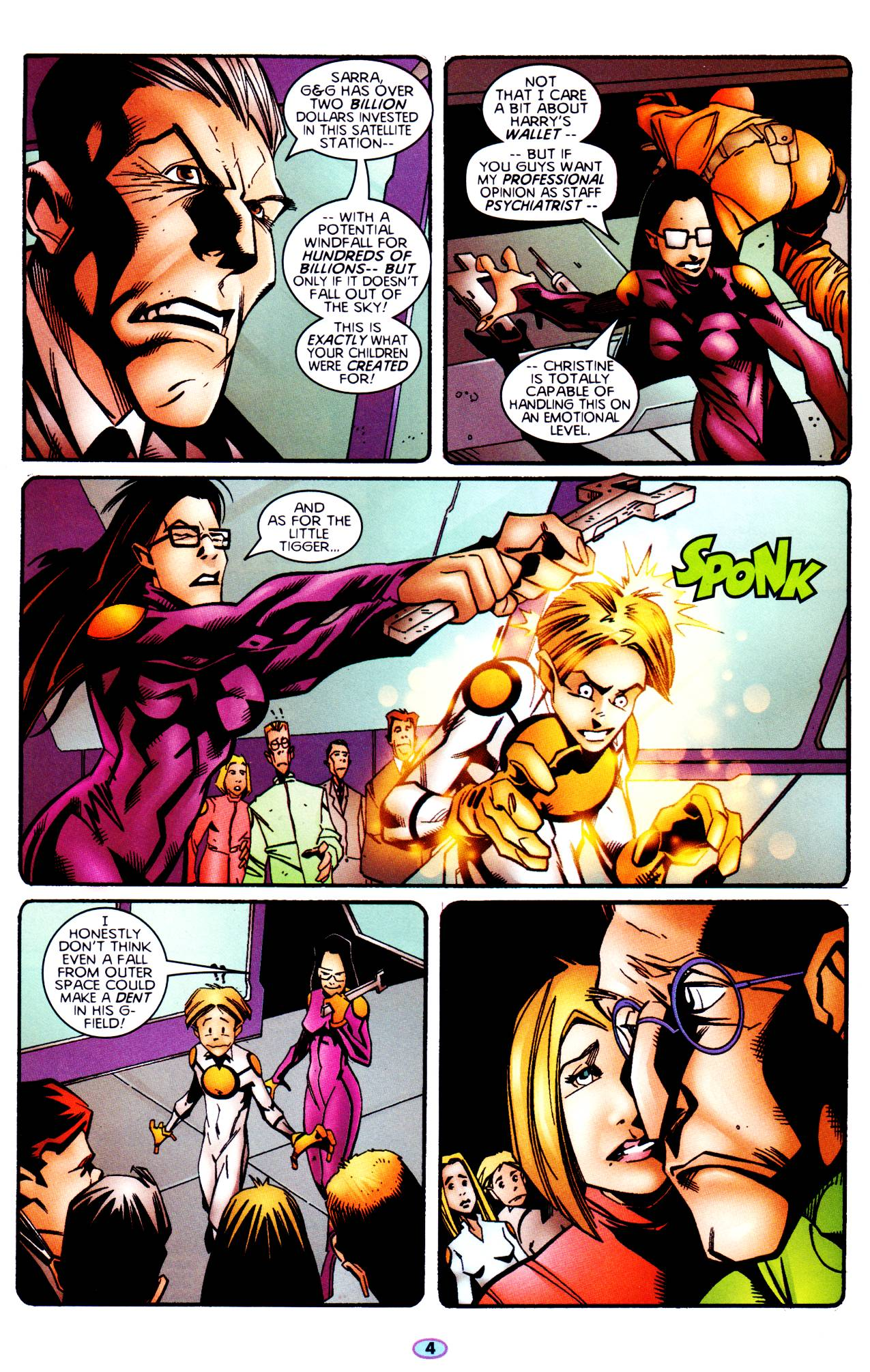 Read online Troublemakers comic -  Issue #6 - 5