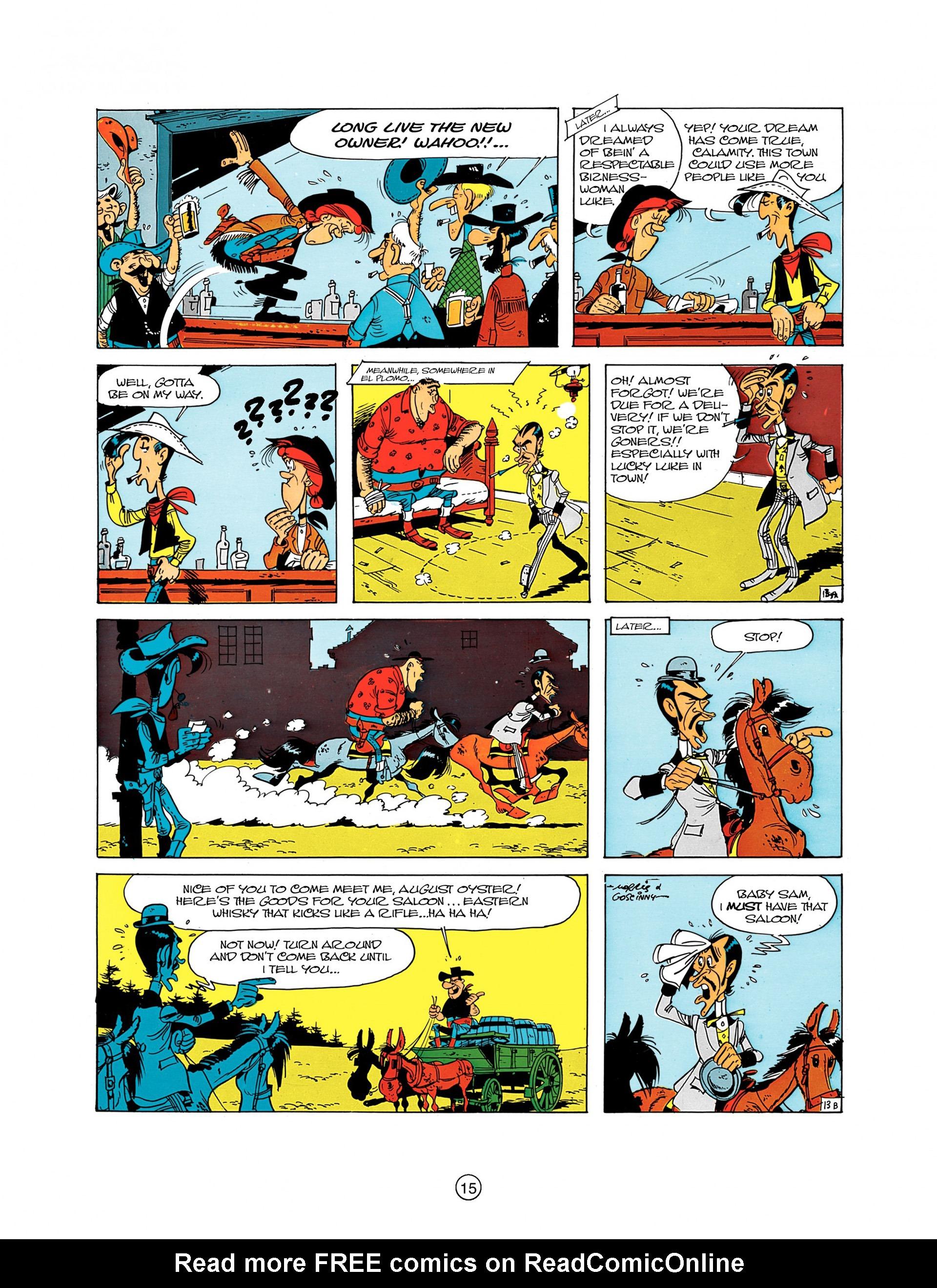 Read online A Lucky Luke Adventure comic -  Issue #8 - 15