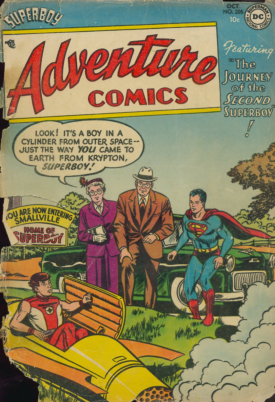 Read online Adventure Comics (1938) comic -  Issue #205 - 1
