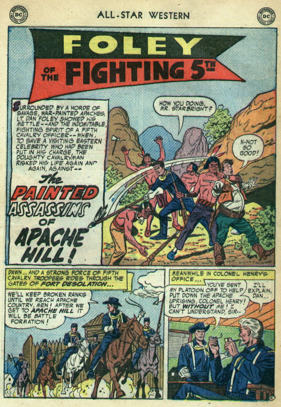 Read online All-Star Western (1951) comic -  Issue #79 - 21