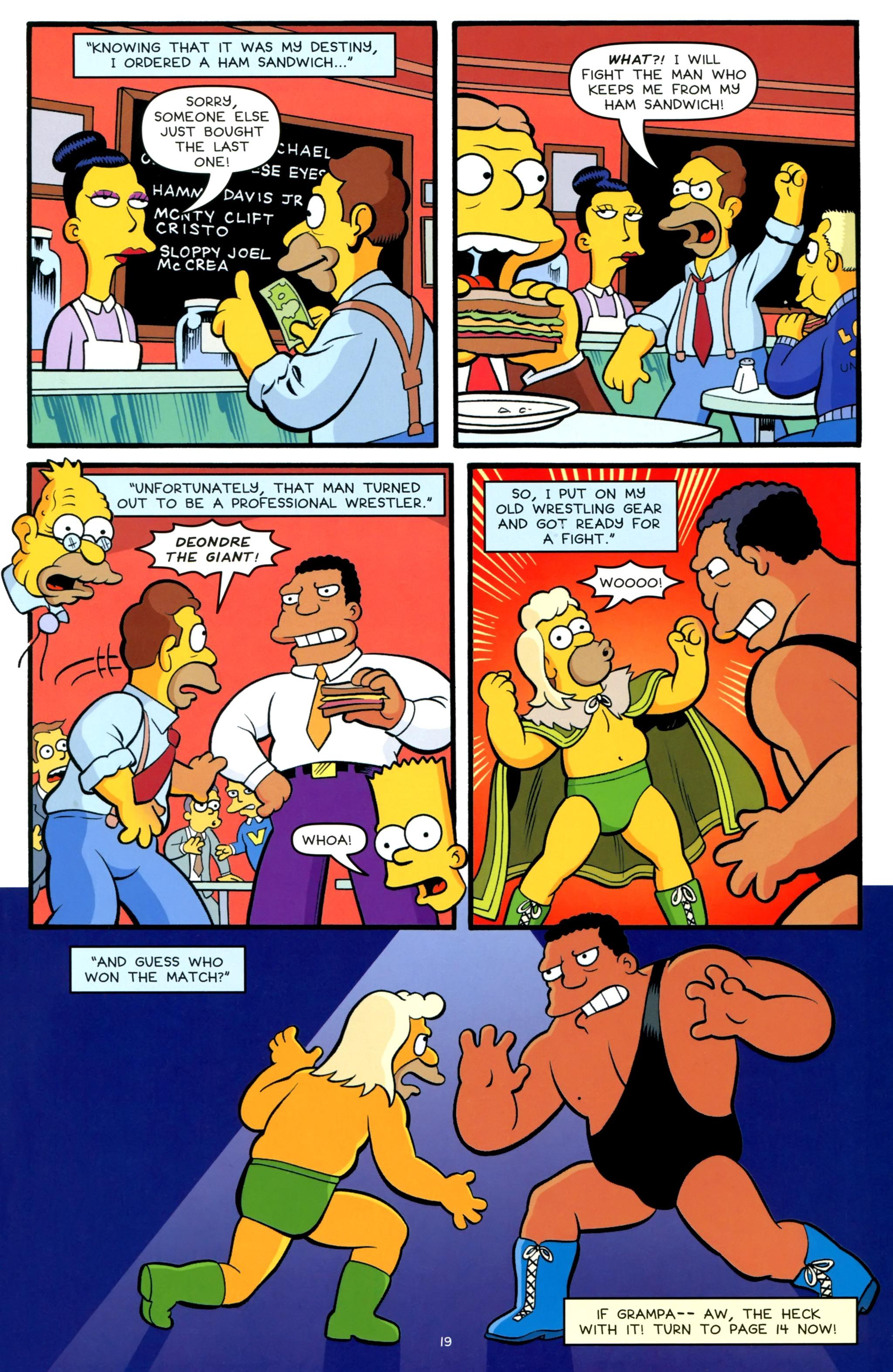 Read online Simpsons One-Shot Wonders: Grampa comic -  Issue # Full - 21