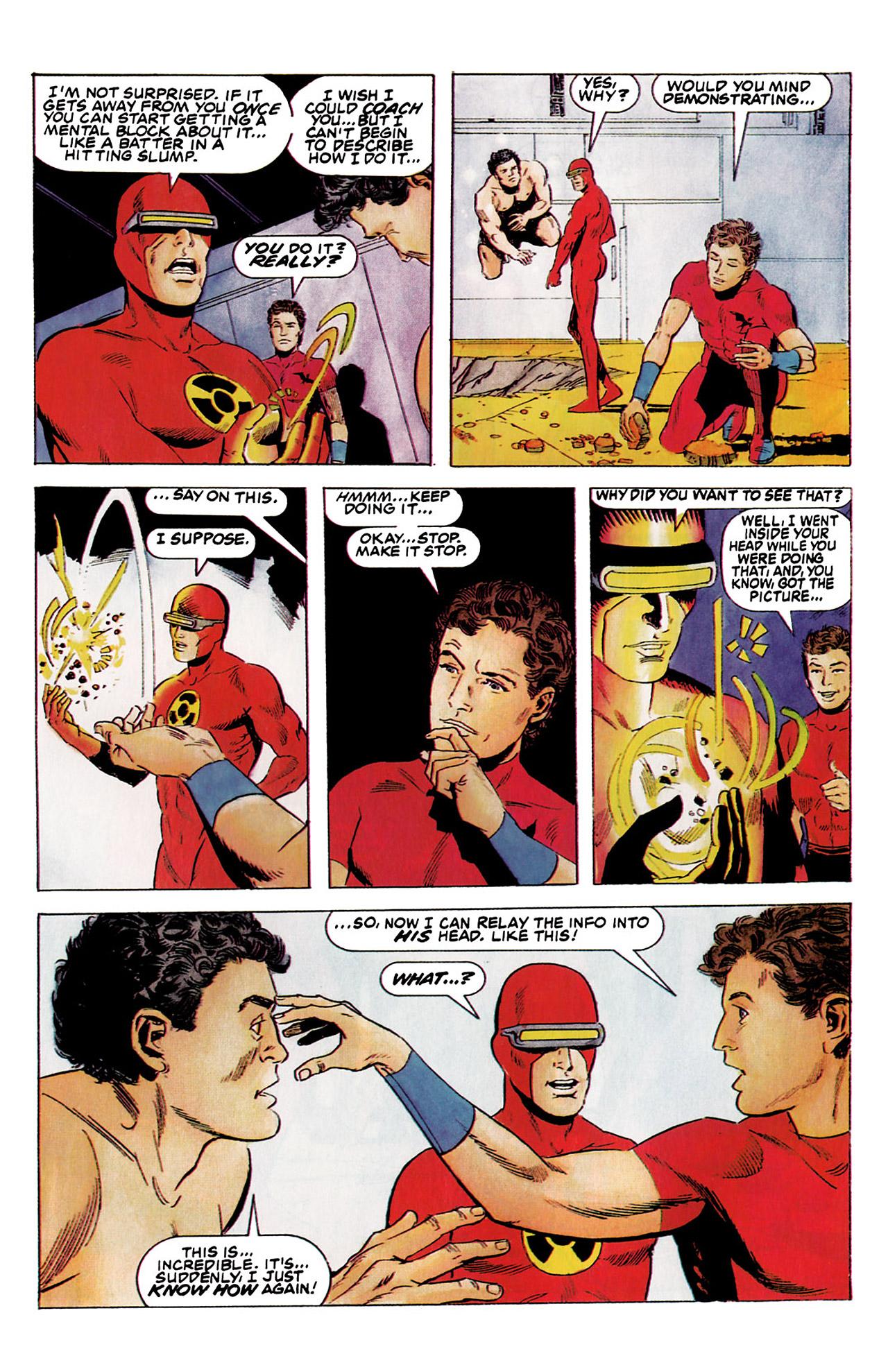 Read online Harbinger (1992) comic -  Issue #5 - 22