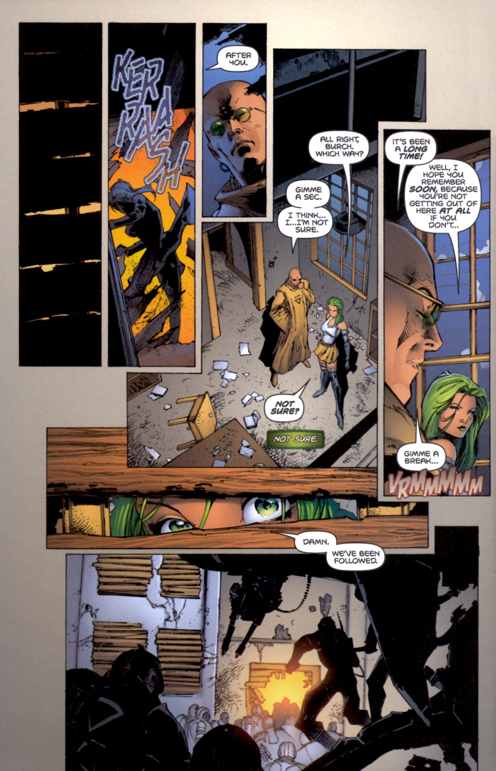 Read online Aphrodite IX (2000) comic -  Issue #4 - 5