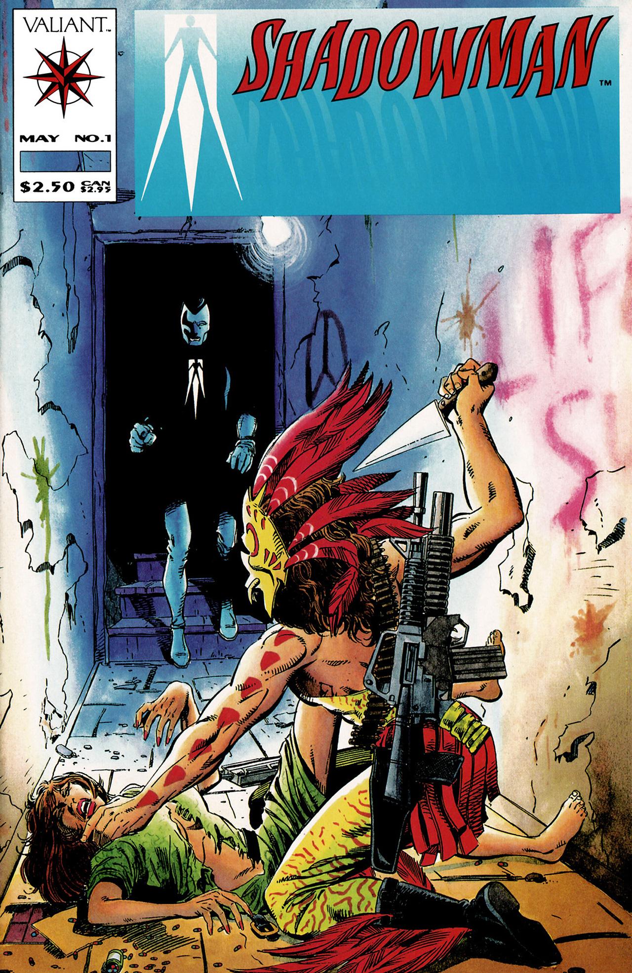 Read online Shadowman (1992) comic -  Issue #1 - 1
