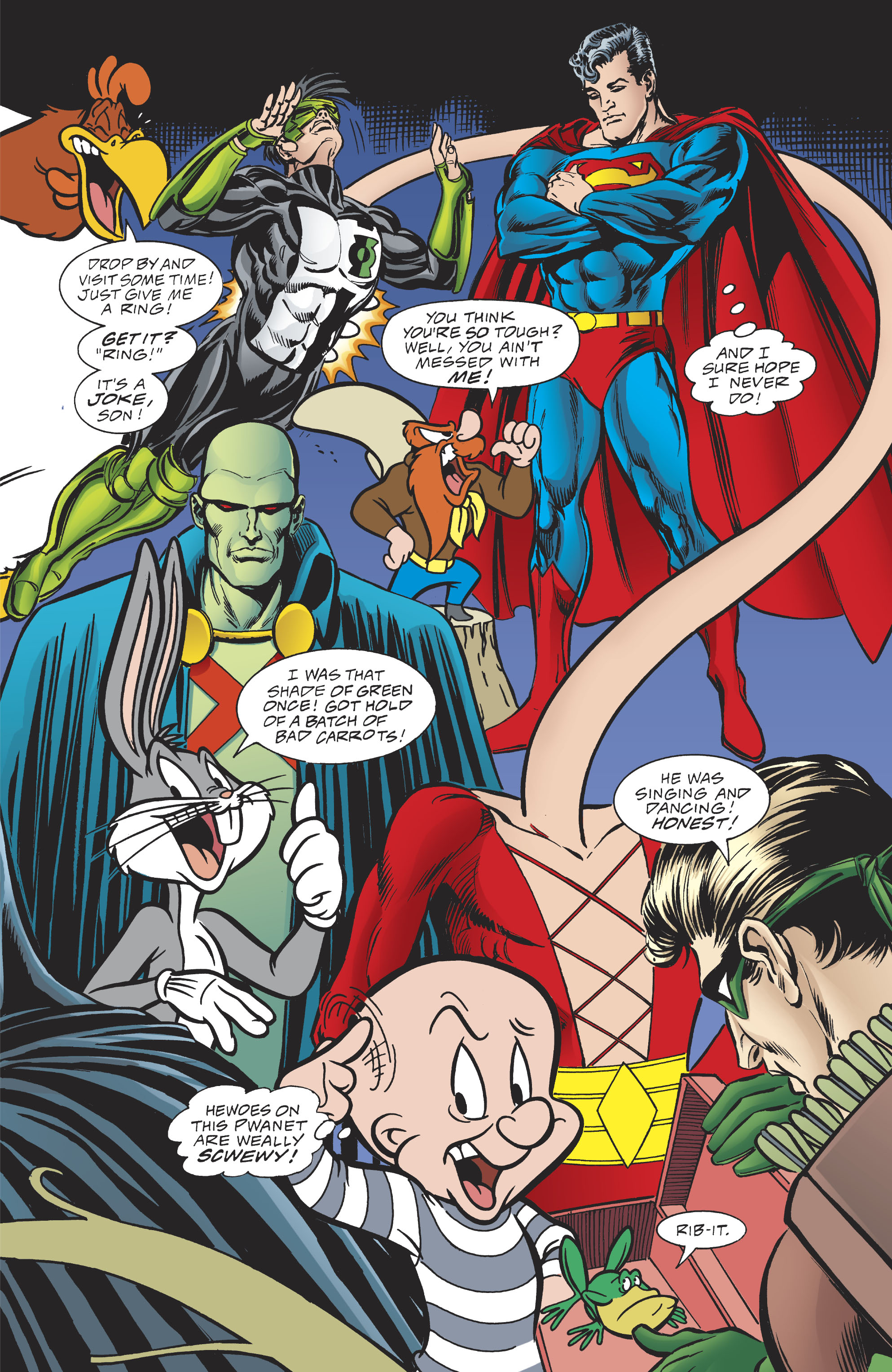 Read online DC/Looney Tunes 100-Page Super Spectacular comic -  Issue # Full - 66