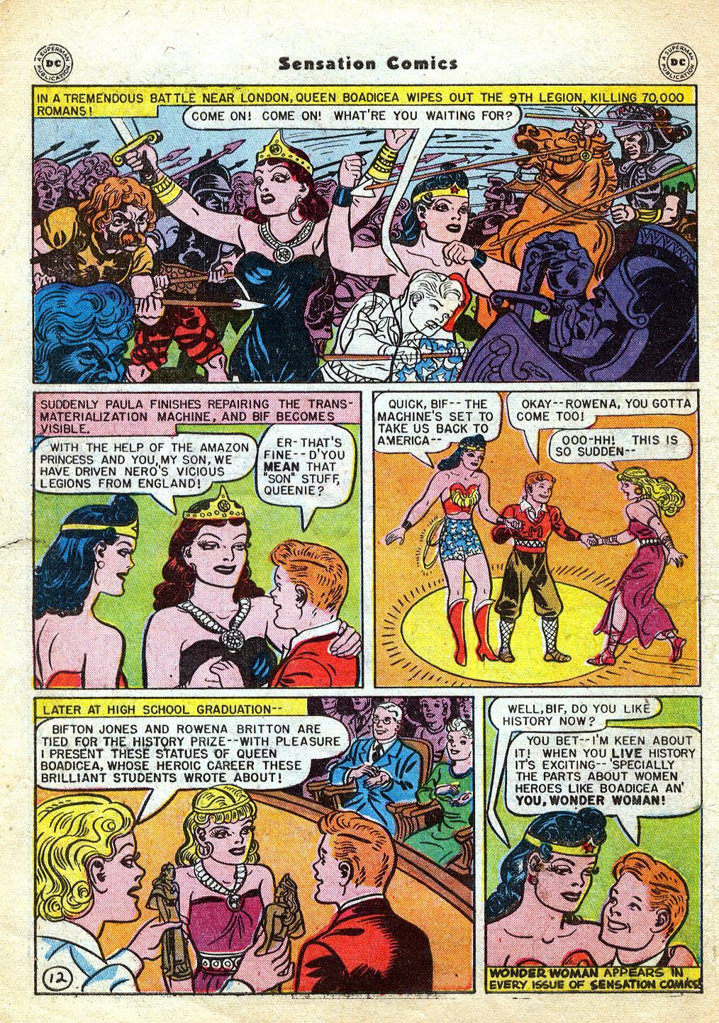 Read online Sensation (Mystery) Comics comic -  Issue #60 - 14