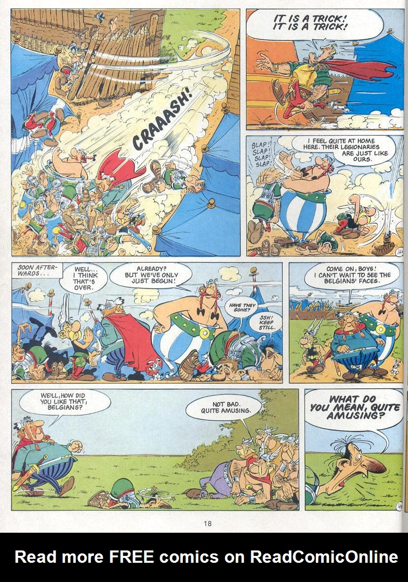 Read online Asterix comic -  Issue #24 - 15