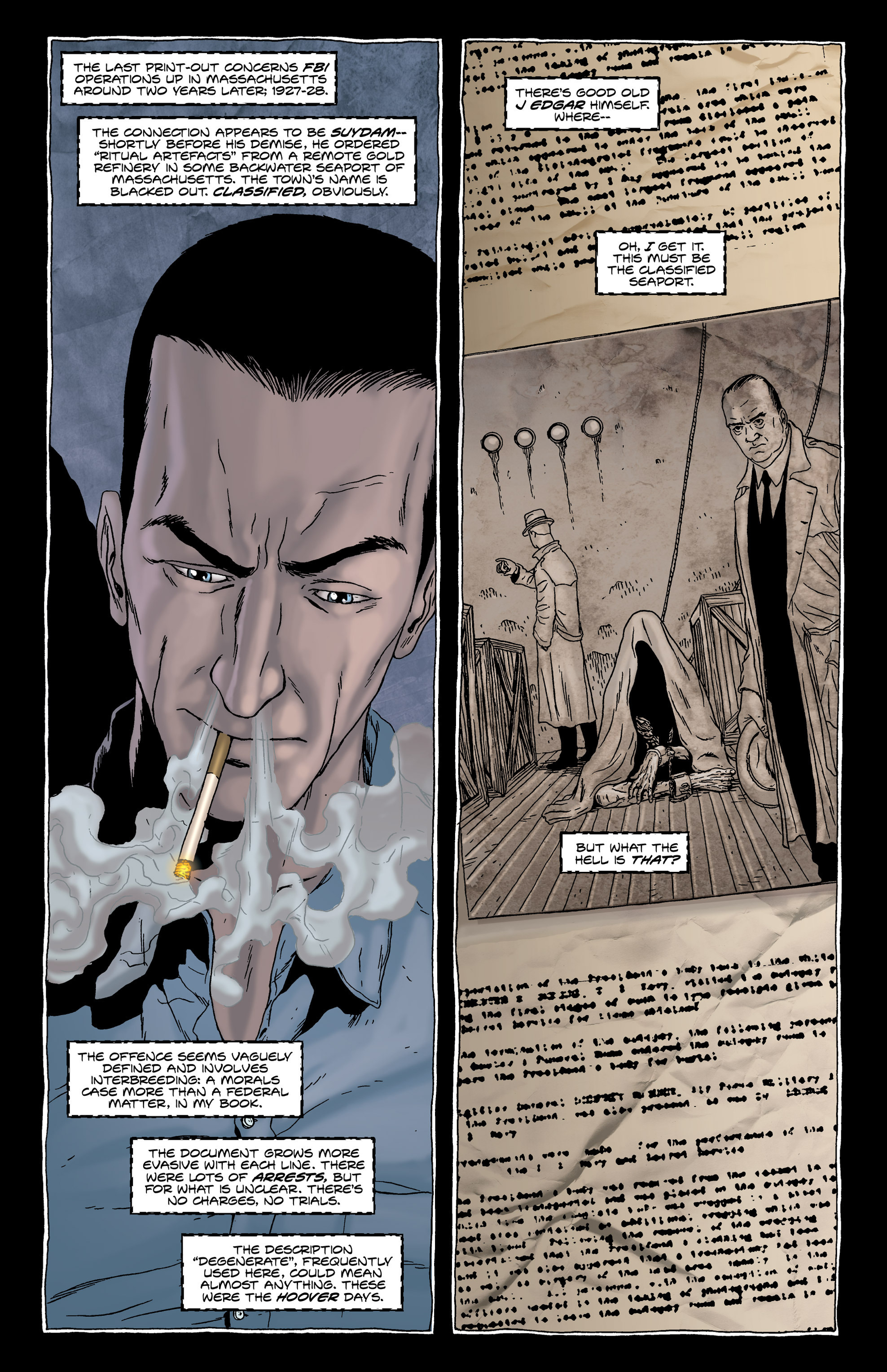 Read online Alan Moore's The Courtyard comic -  Issue # TPB - 28