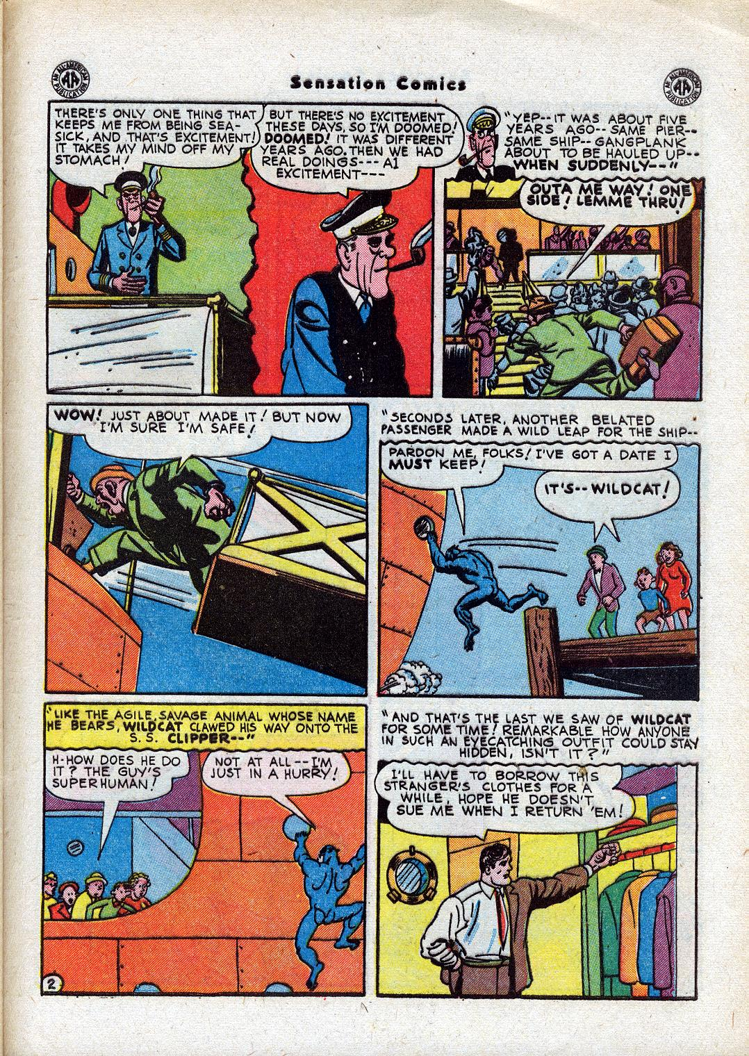 Read online Sensation (Mystery) Comics comic -  Issue #44 - 43