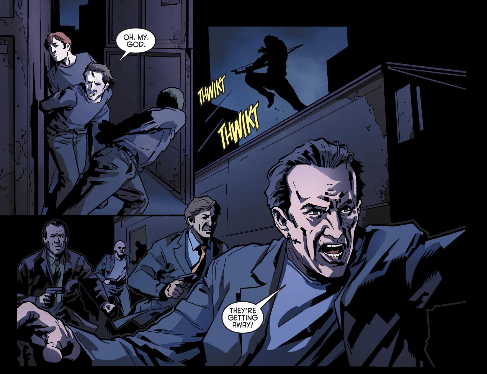 Read online Arrow [II] comic -  Issue #8 - 15