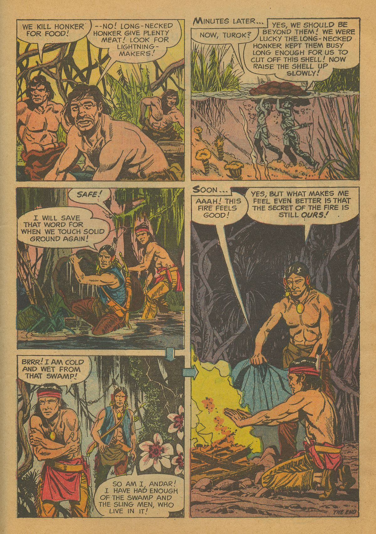 Read online Turok, Son of Stone comic -  Issue #26 - 32