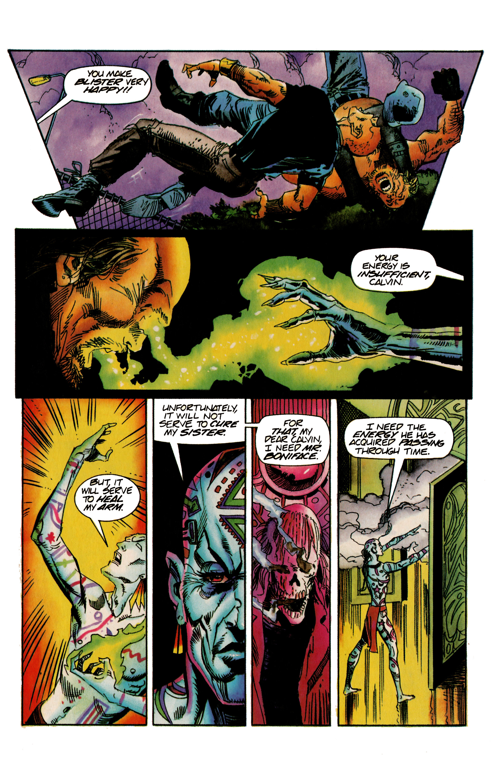 Read online Shadowman (1992) comic -  Issue #22 - 21