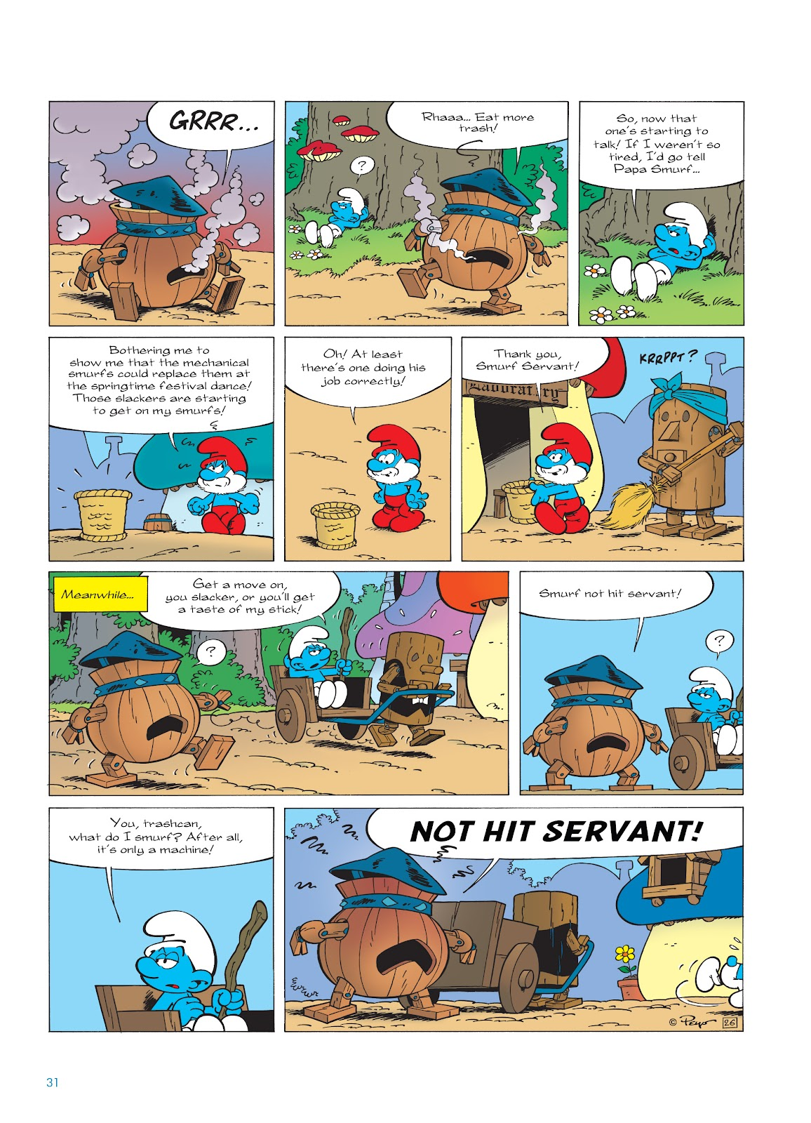 Read online The Smurfs comic -  Issue #23 - 31