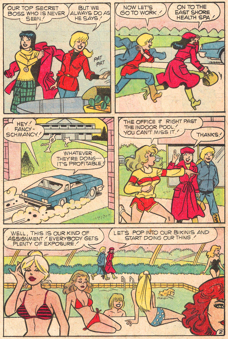 Read online Archie's Girls Betty and Veronica comic -  Issue #277 - 21