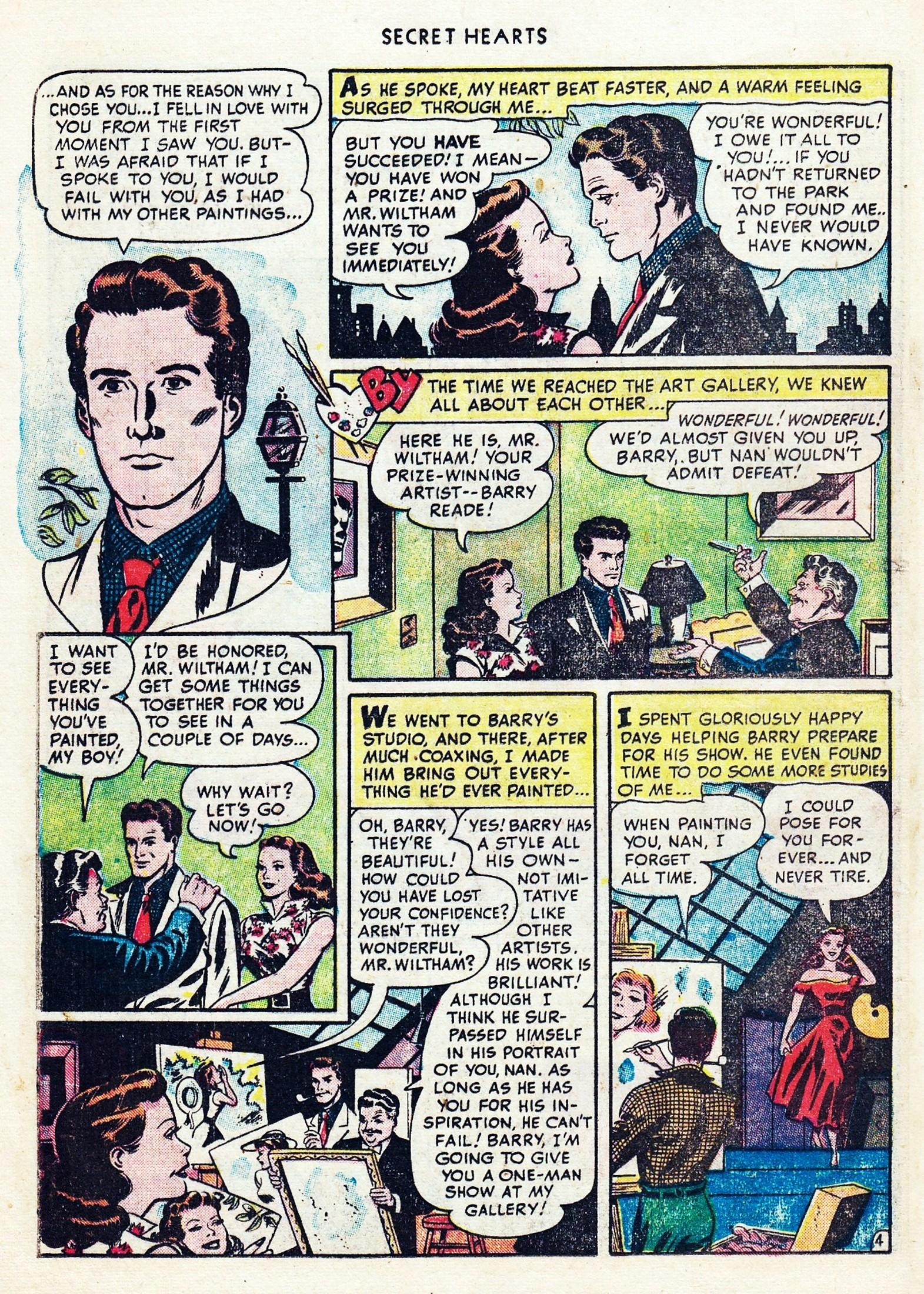 Read online Secret Hearts comic -  Issue #1 - 16