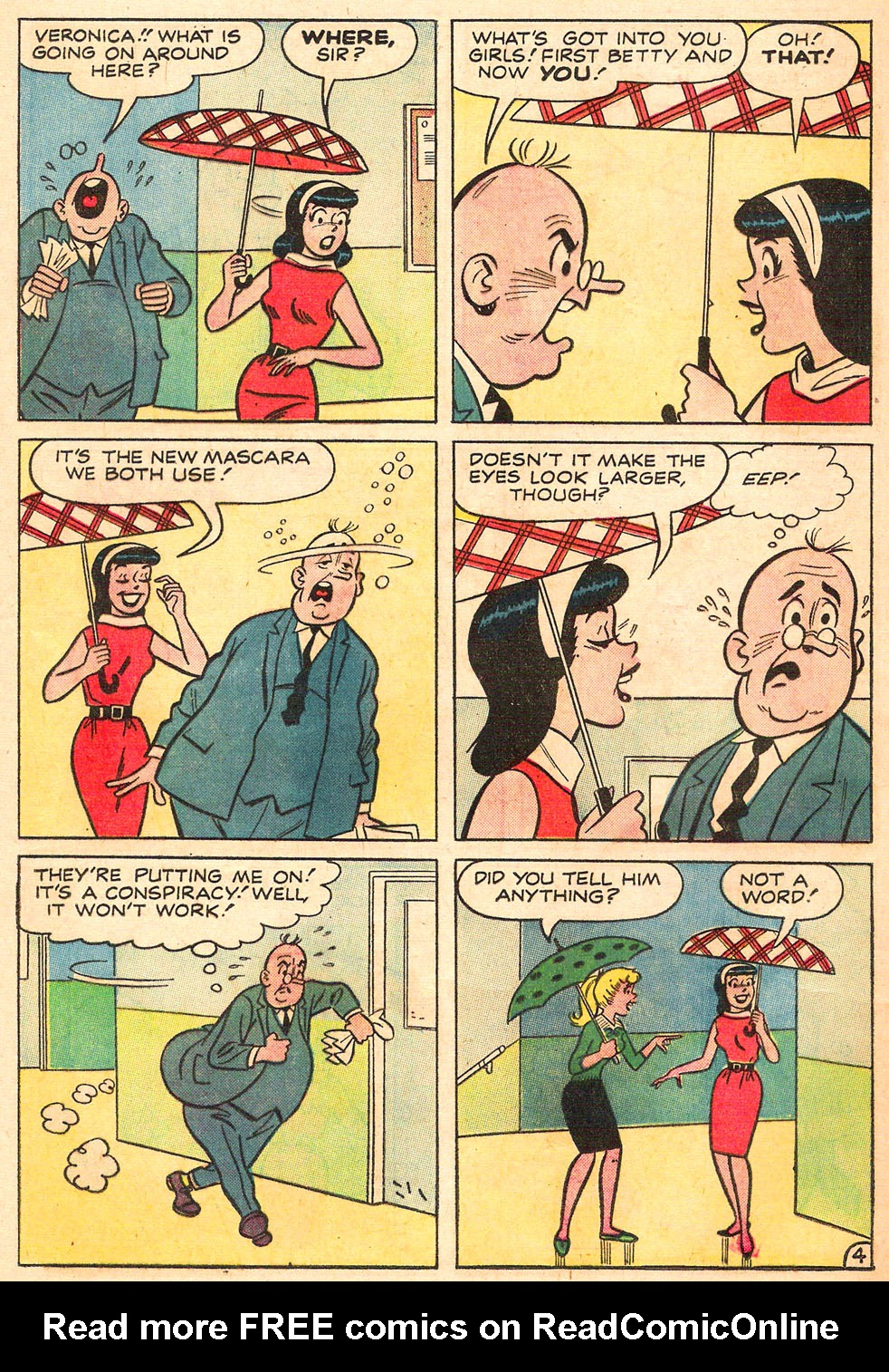 Read online Archie's Girls Betty and Veronica comic -  Issue #98 - 32