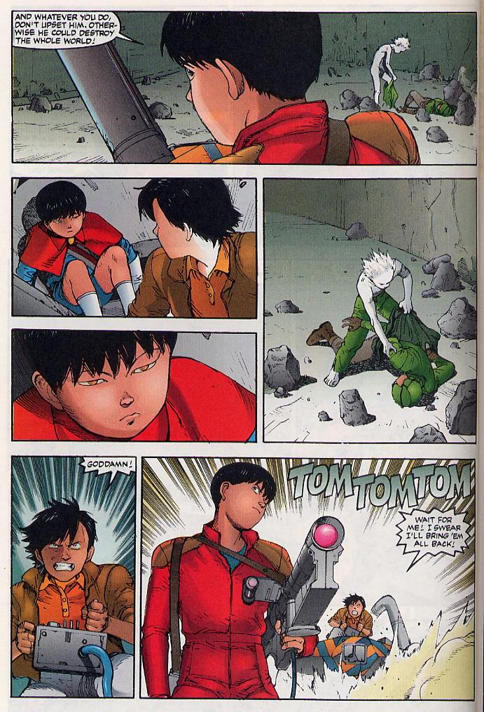 Read online Akira comic -  Issue #32 - 33