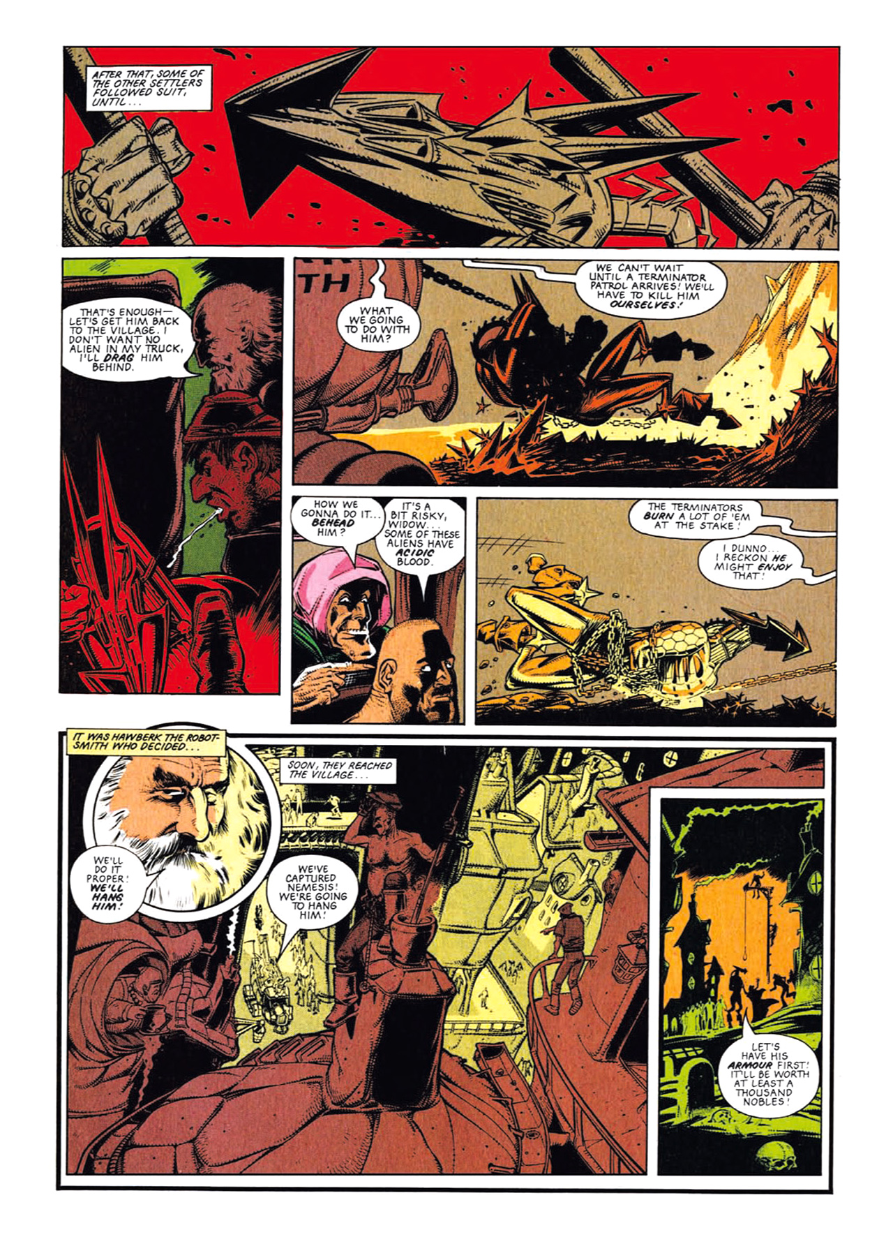 Read online Nemesis The Warlock comic -  Issue # TPB Deviant Edition - 32