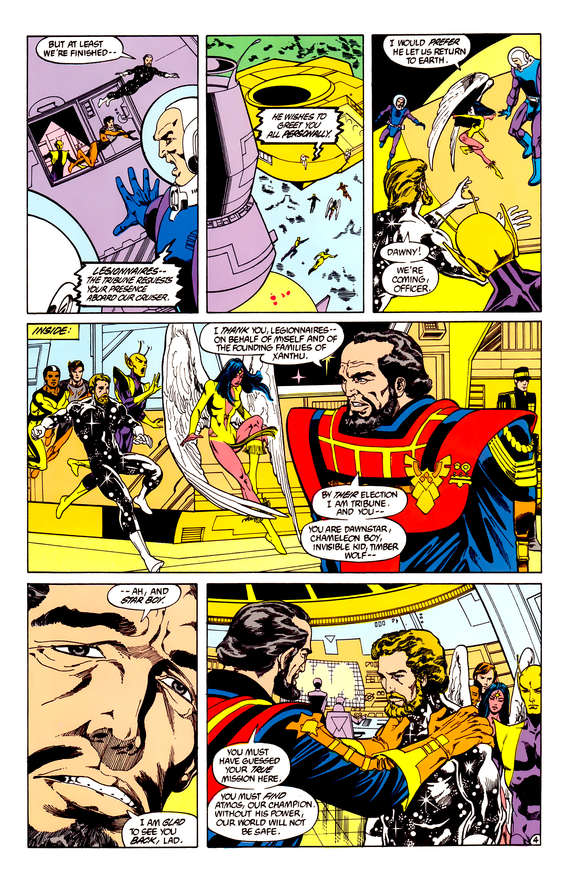 Legion of Super-Heroes (1984) 28 Page 5