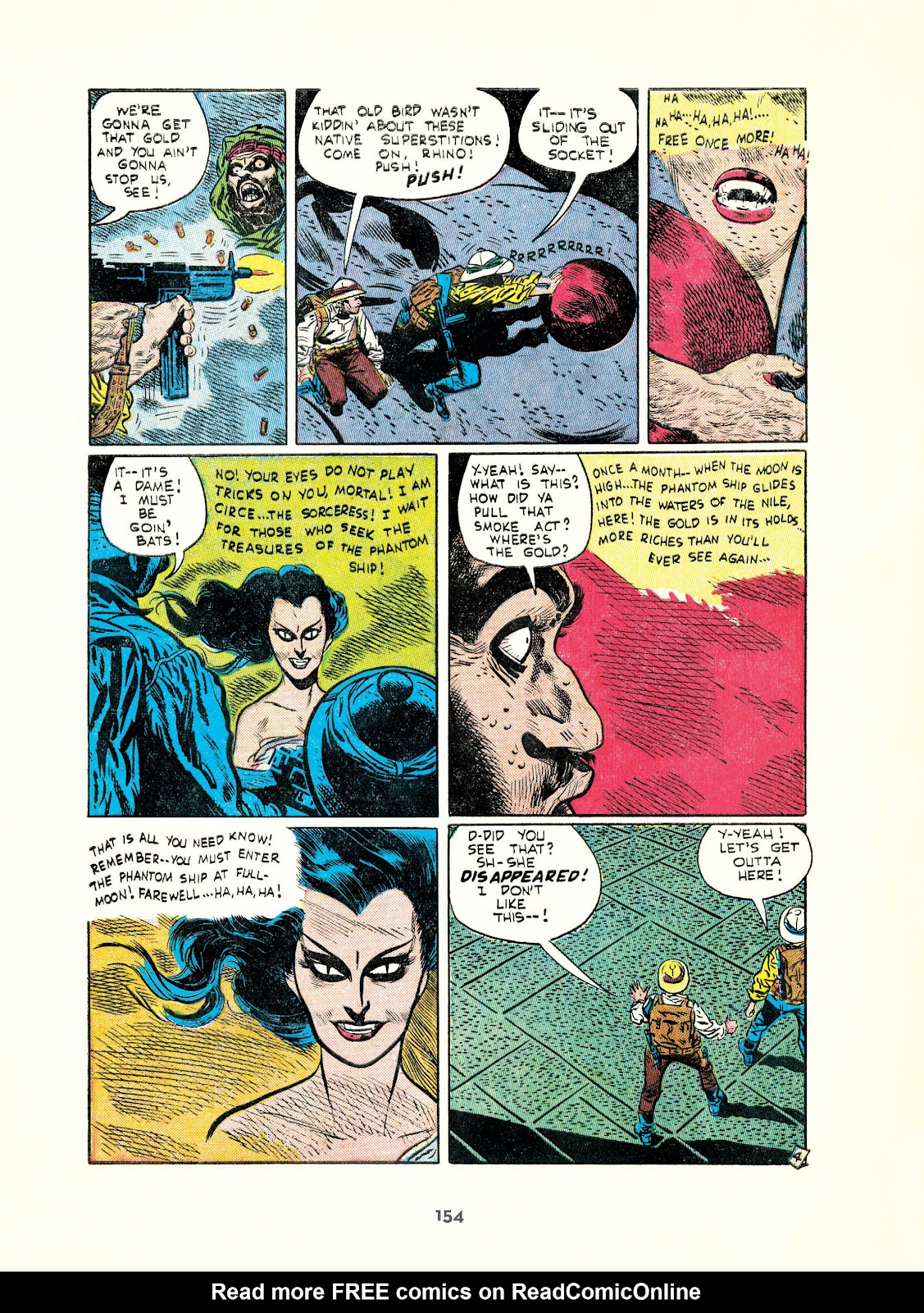 Read online Setting the Standard: Comics by Alex Toth 1952-1954 comic -  Issue # TPB (Part 2) - 55