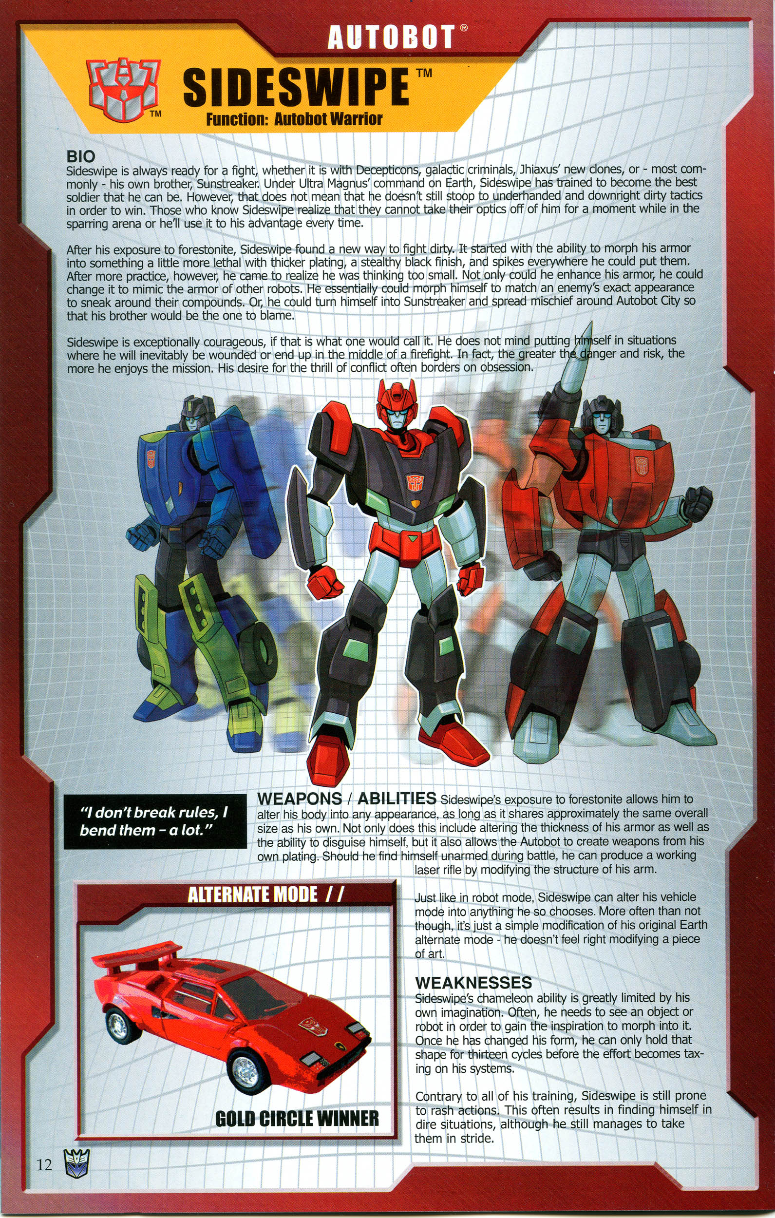 Read online Transformers: Collectors' Club comic -  Issue #48 - 12