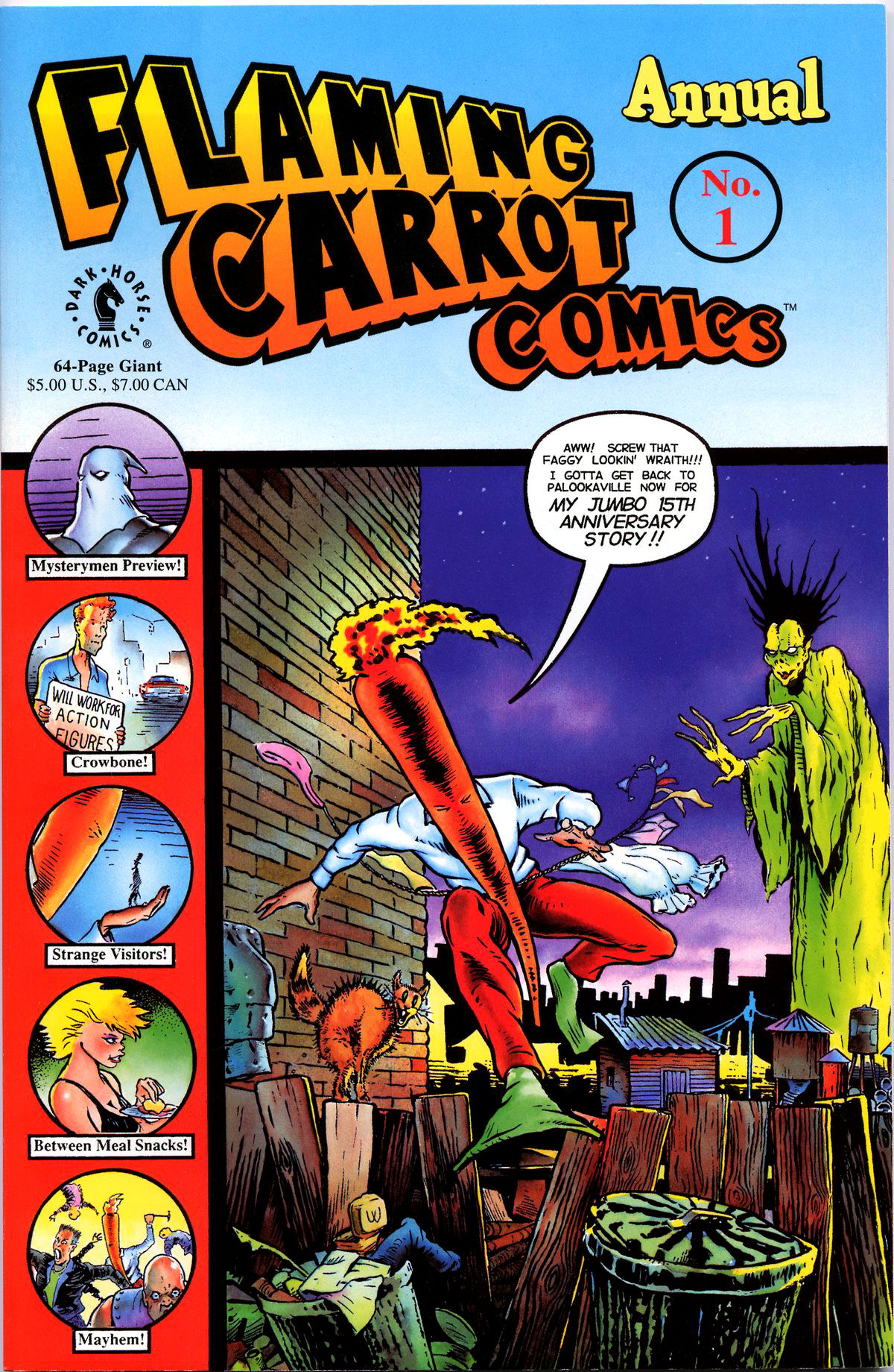 Read online Flaming Carrot Comics (1988) comic -  Issue # _Annual 1 - 1