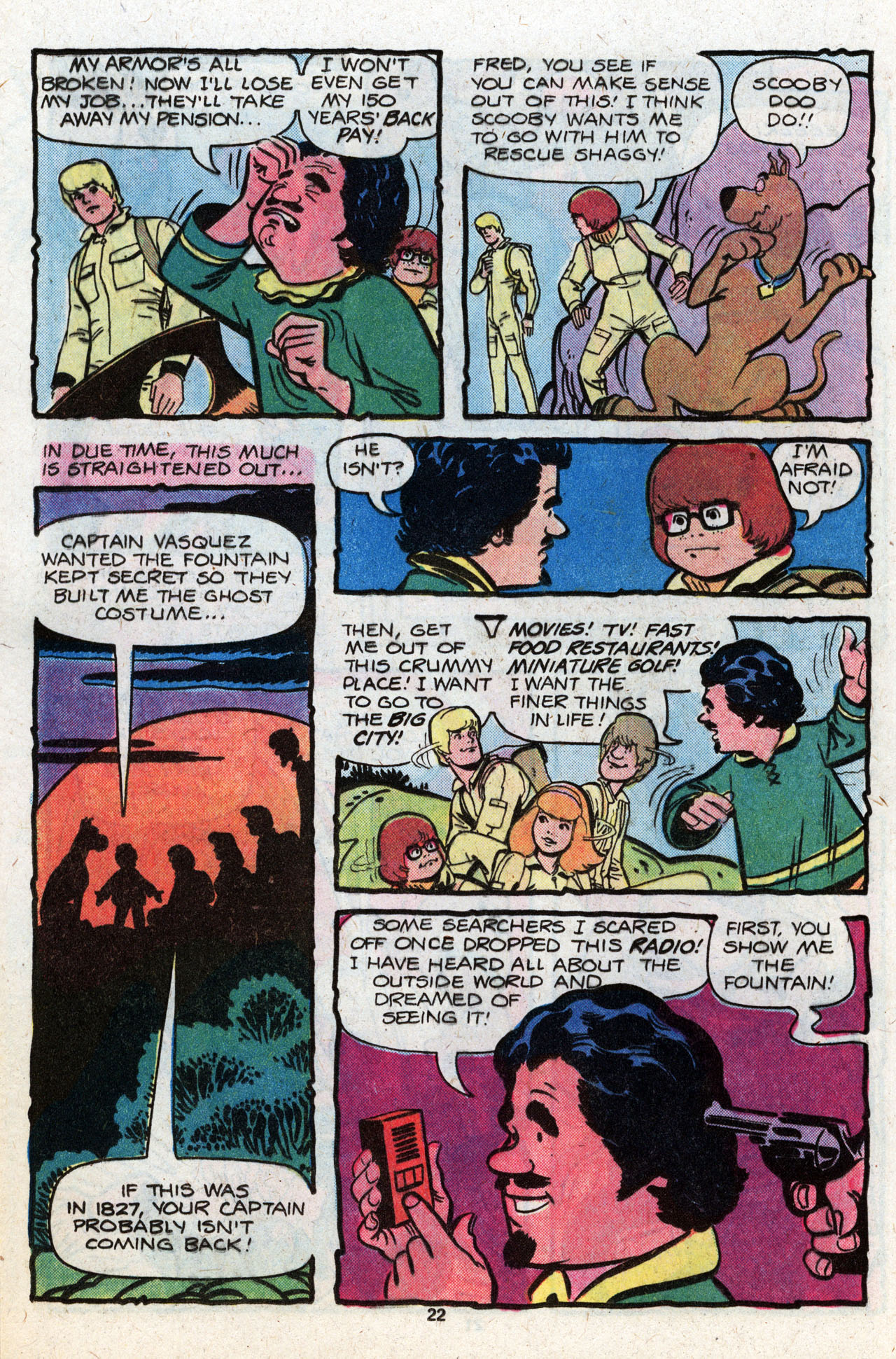 Read online Scooby-Doo (1977) comic -  Issue #8 - 23