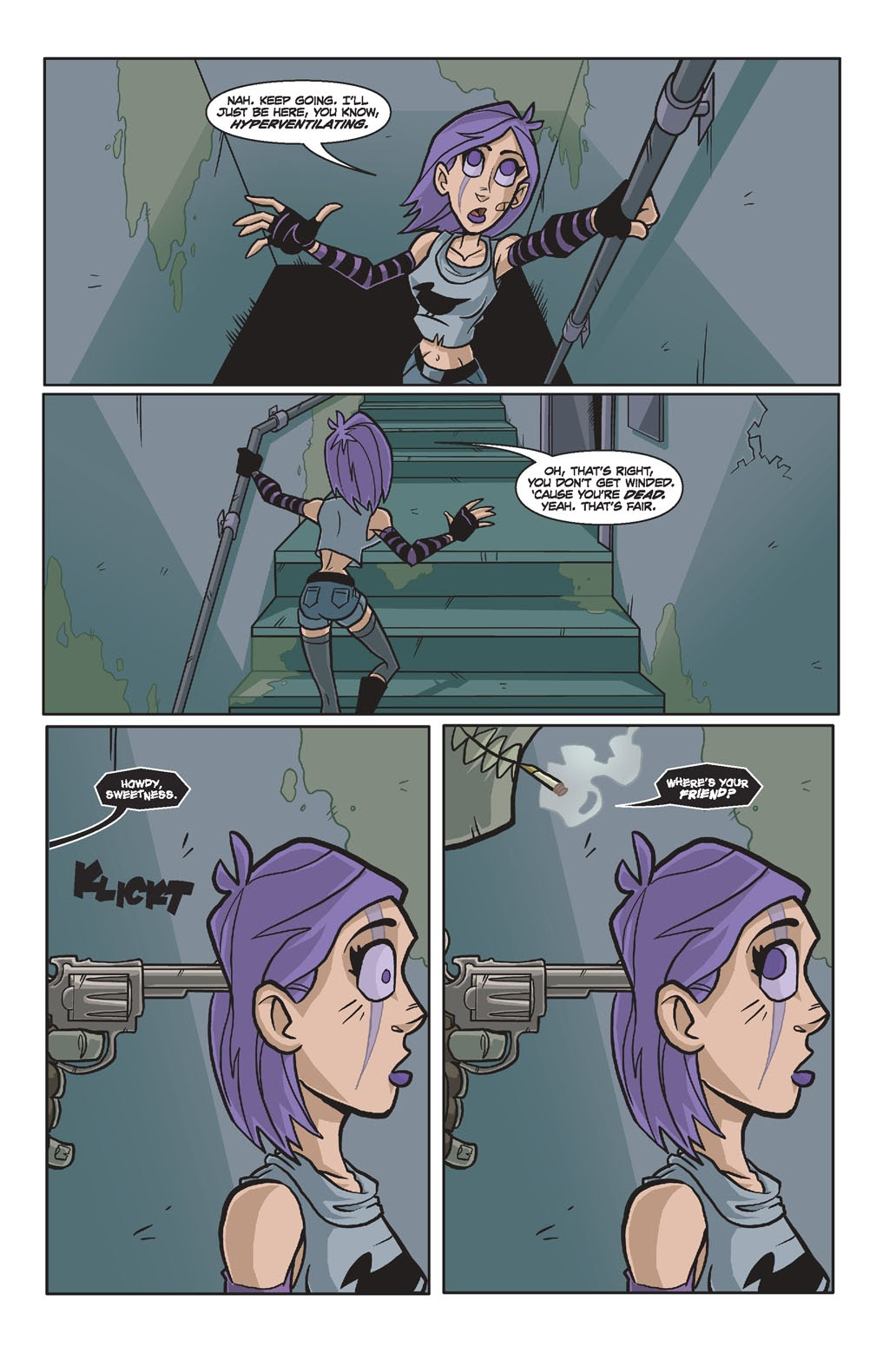 Read online Xombie Reanimated comic -  Issue #4 - 16