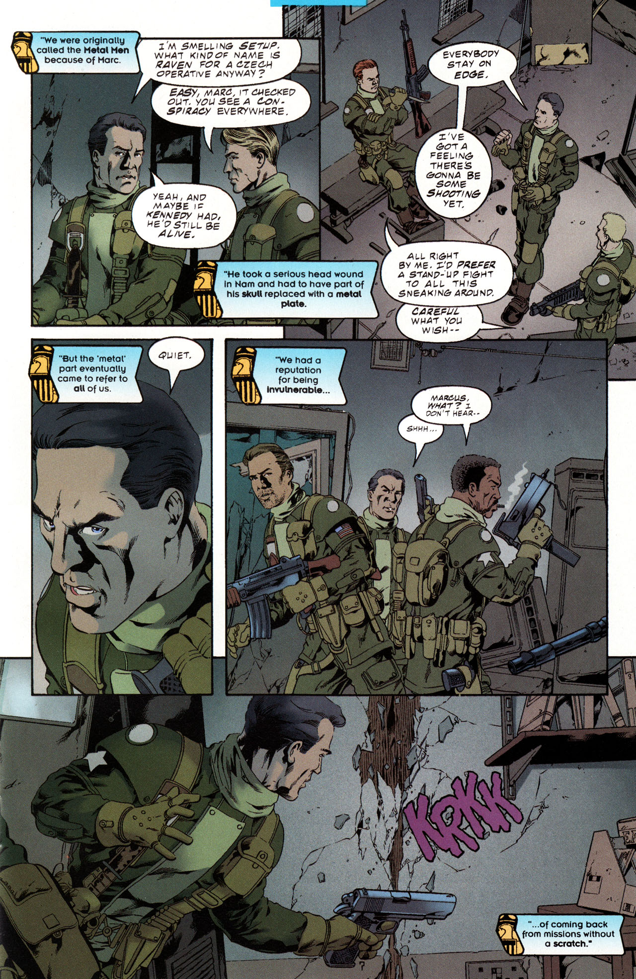 Read online Tangent Comics/ Metal Men comic -  Issue # Full - 8