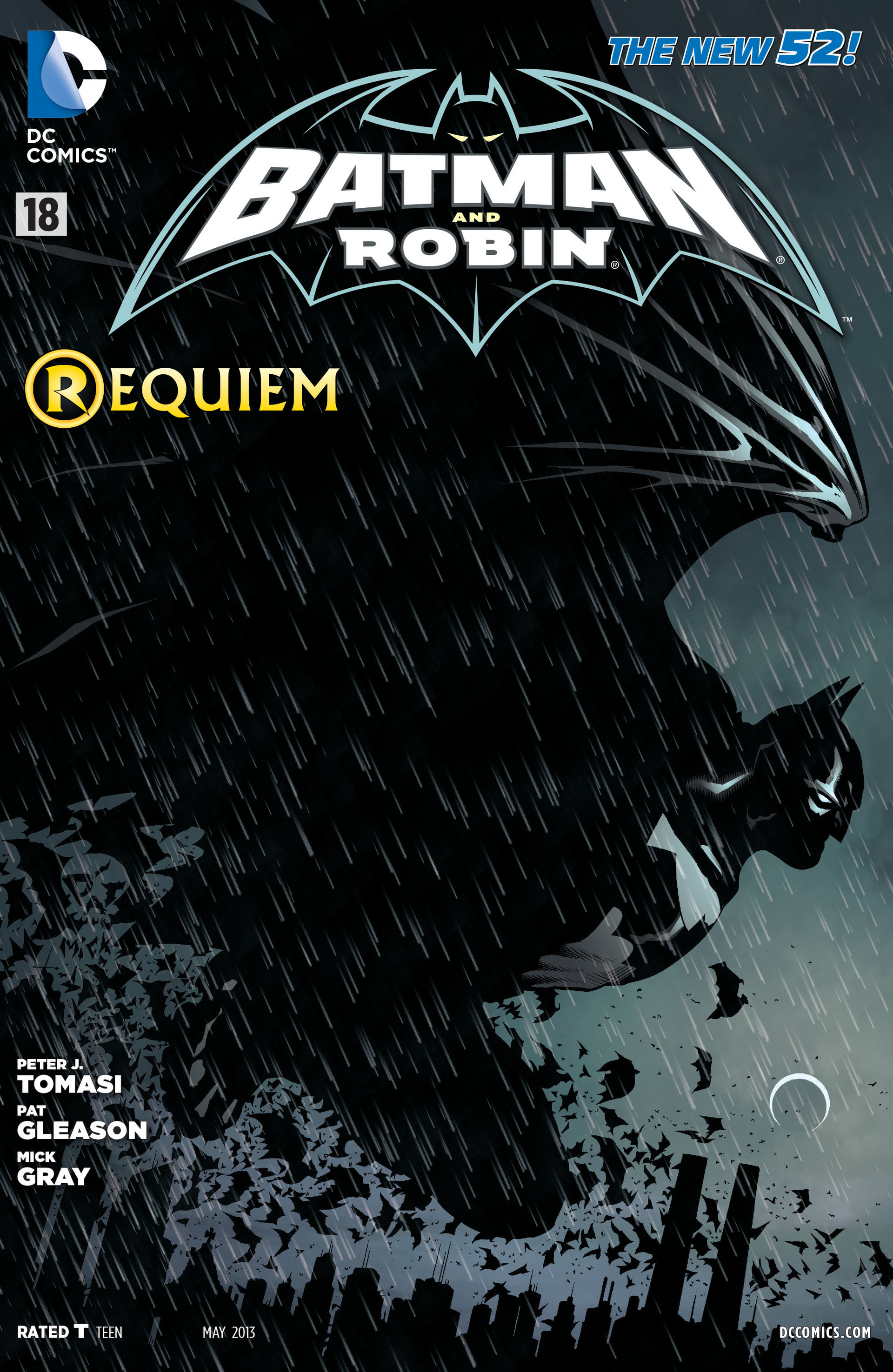 Read online Batman and Robin (2011) comic -  Issue #18 - 1