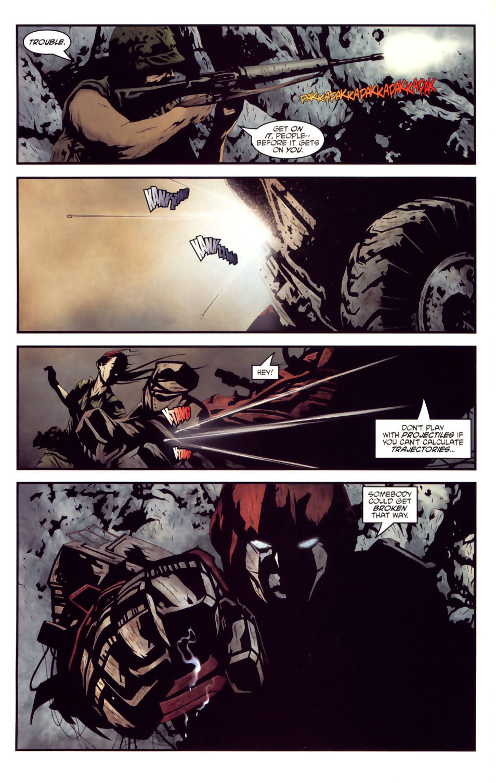 Read online Transformers/G.I. Joe comic -  Issue #2 - 6