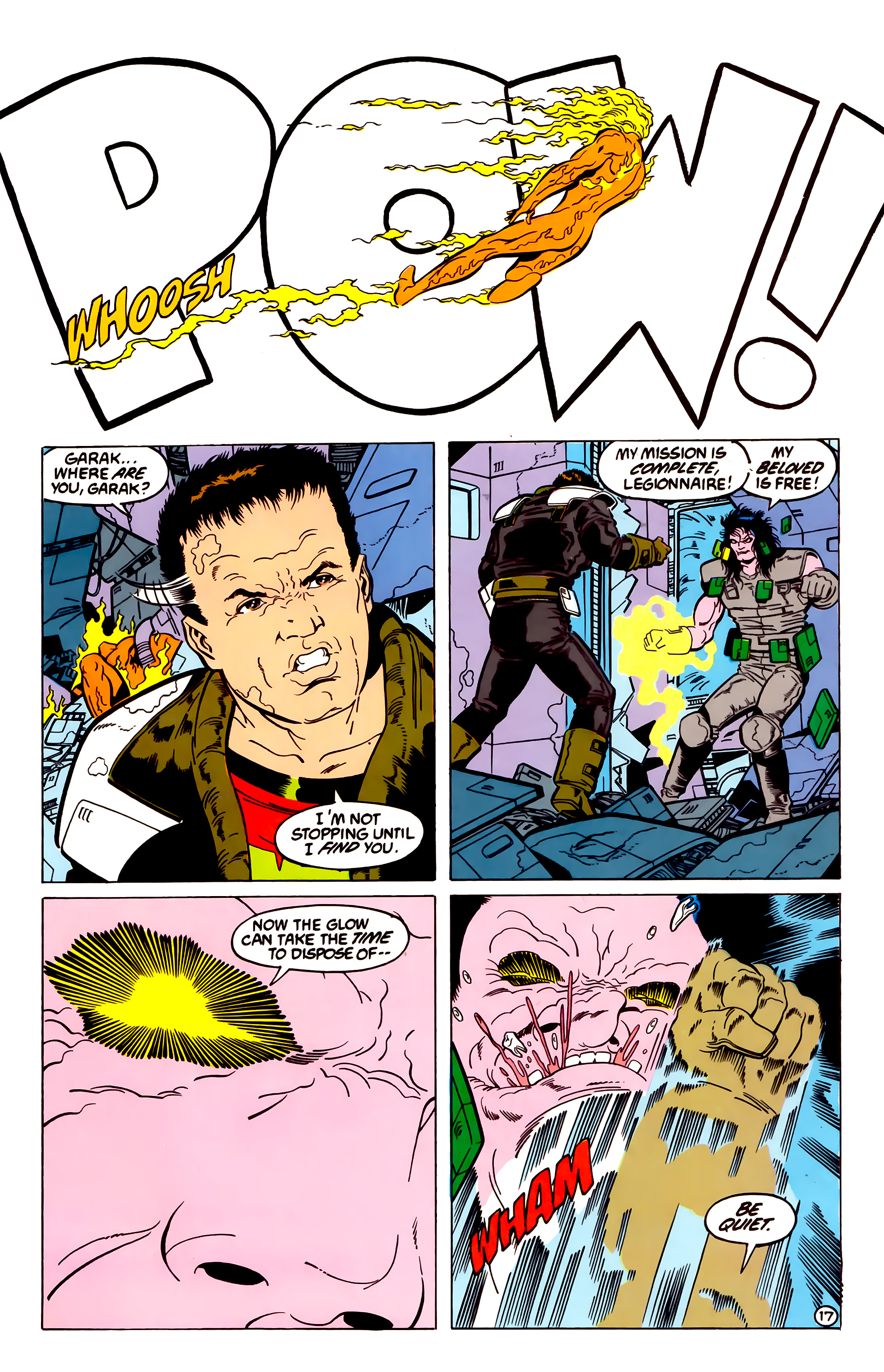 Legion of Super-Heroes (1984) 54 Page 17