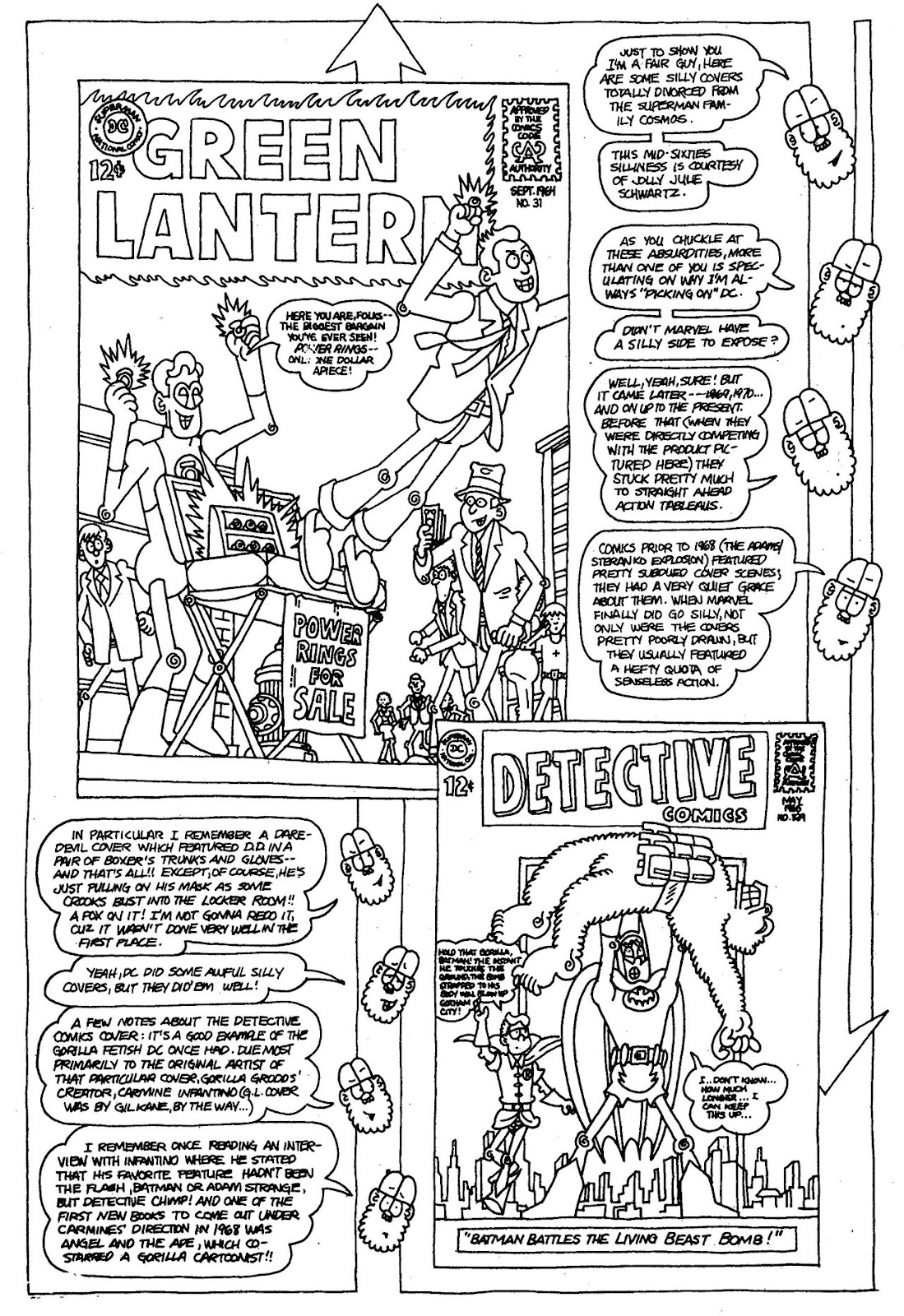 Read online The Nearly Complete Essential Hembeck Archives Omnibus comic -  Issue # TPB (Part 1) - 73