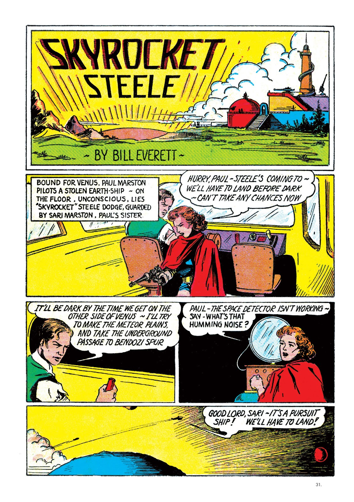 Read online The Bill Everett Archives comic -  Issue # TPB 2 (Part 1) - 32