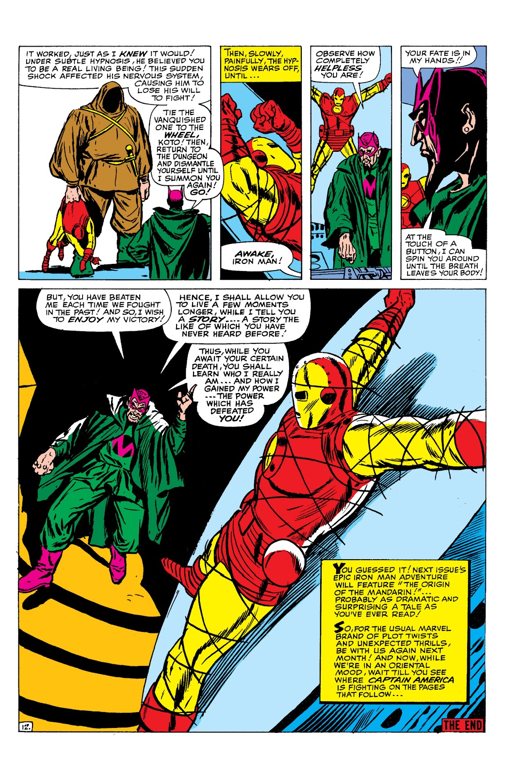 Read online Marvel Masterworks: The Invincible Iron Man comic -  Issue # TPB 2 (Part 2) - 83