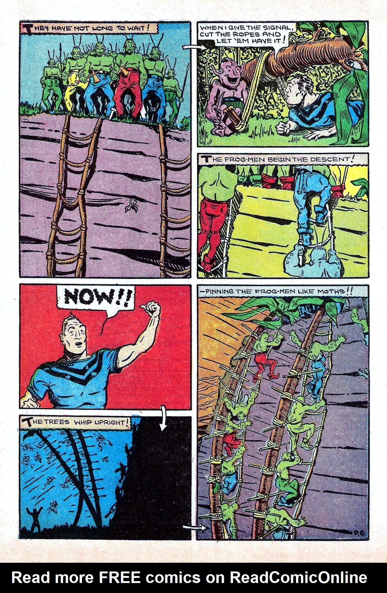 Read online Amazing Man Comics comic -  Issue #11 - 18
