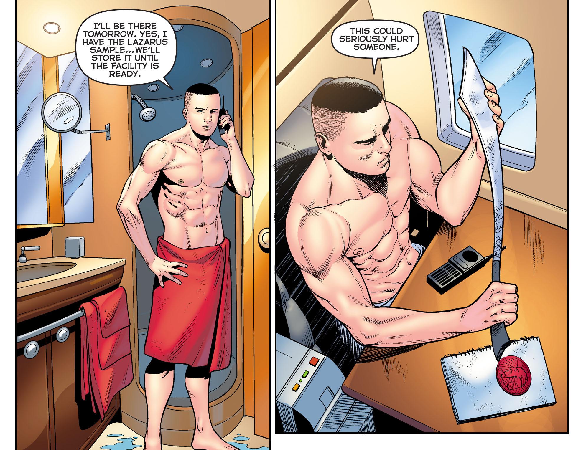 Read online Arrow: The Dark Archer comic -  Issue #9 - 14