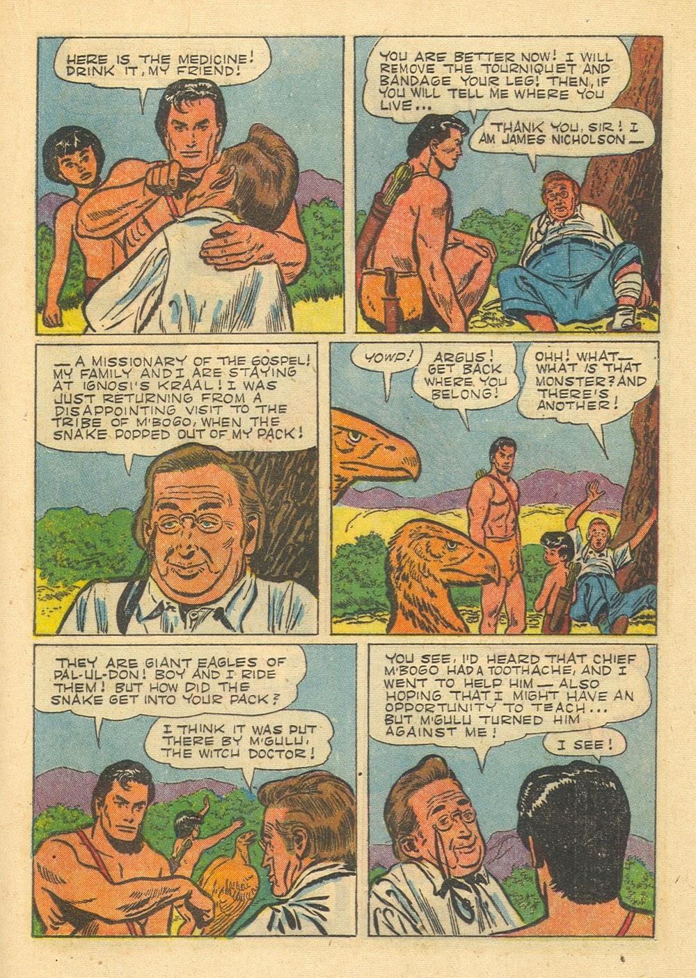 Tarzan (1948) issue 65 - Page 21