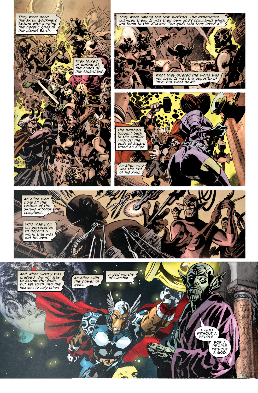 Read online Secret Invasion Aftermath: Beta Ray Bill - The Green of Eden comic -  Issue # Full - 15