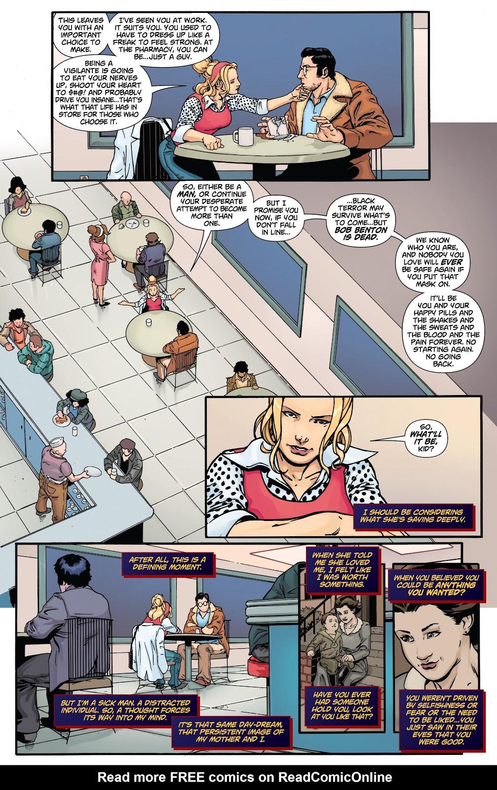 Read online Black Terror (2019) comic -  Issue # Full - 24