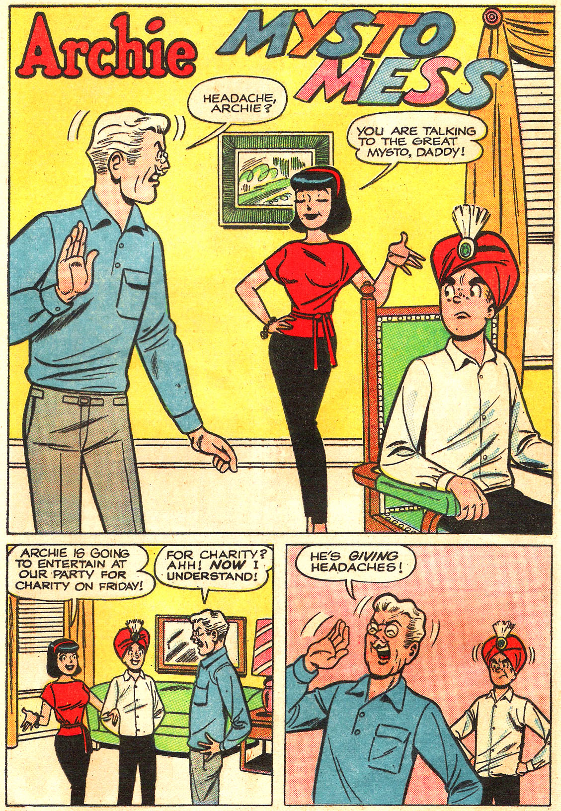 Read online Archie (1960) comic -  Issue #160 - 29