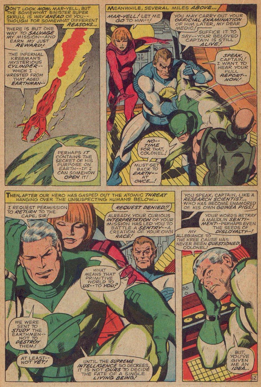 Captain Marvel (1968) Issue #3 #3 - English 13