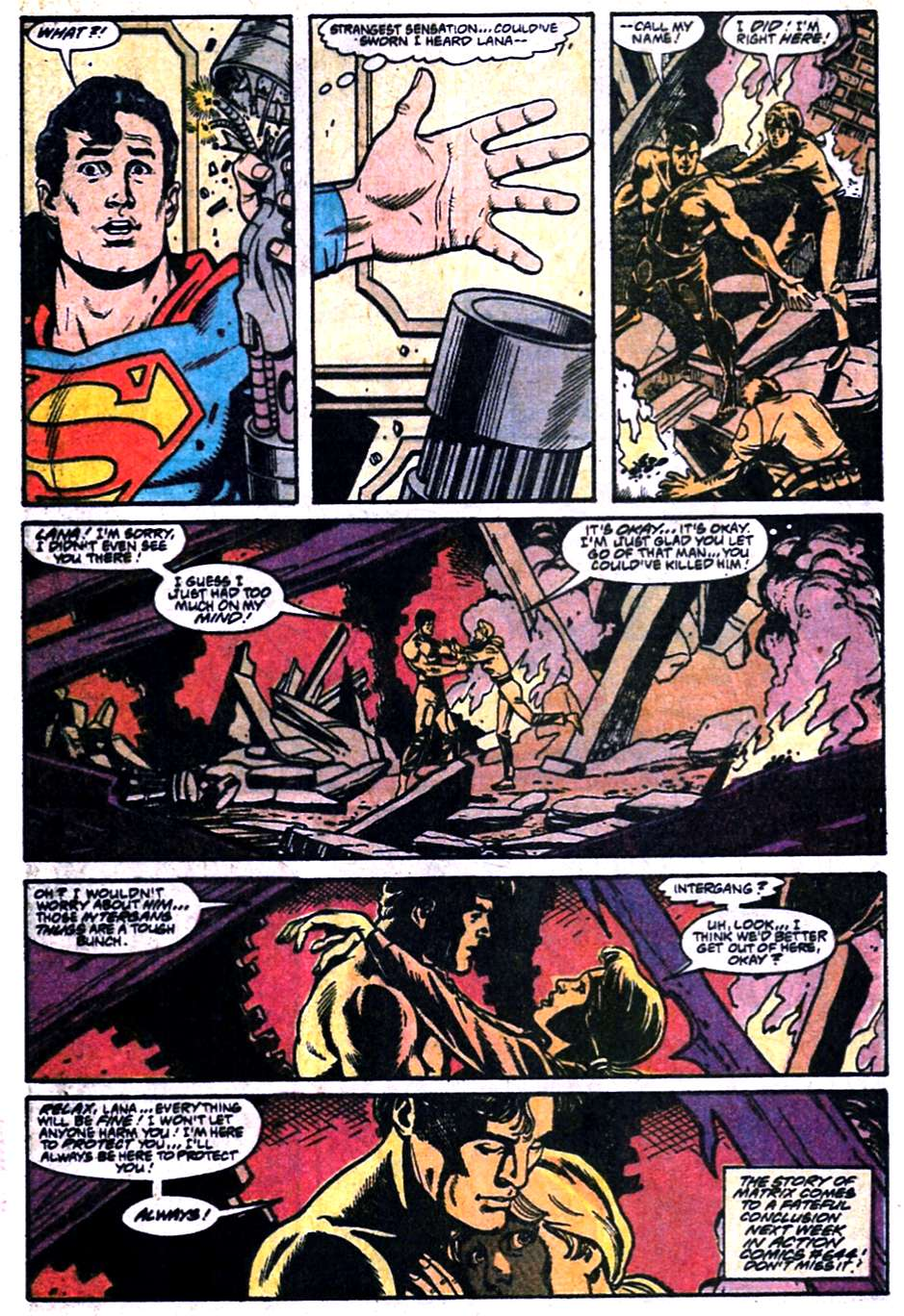 Read online Adventures of Superman (1987) comic -  Issue #457 - 23