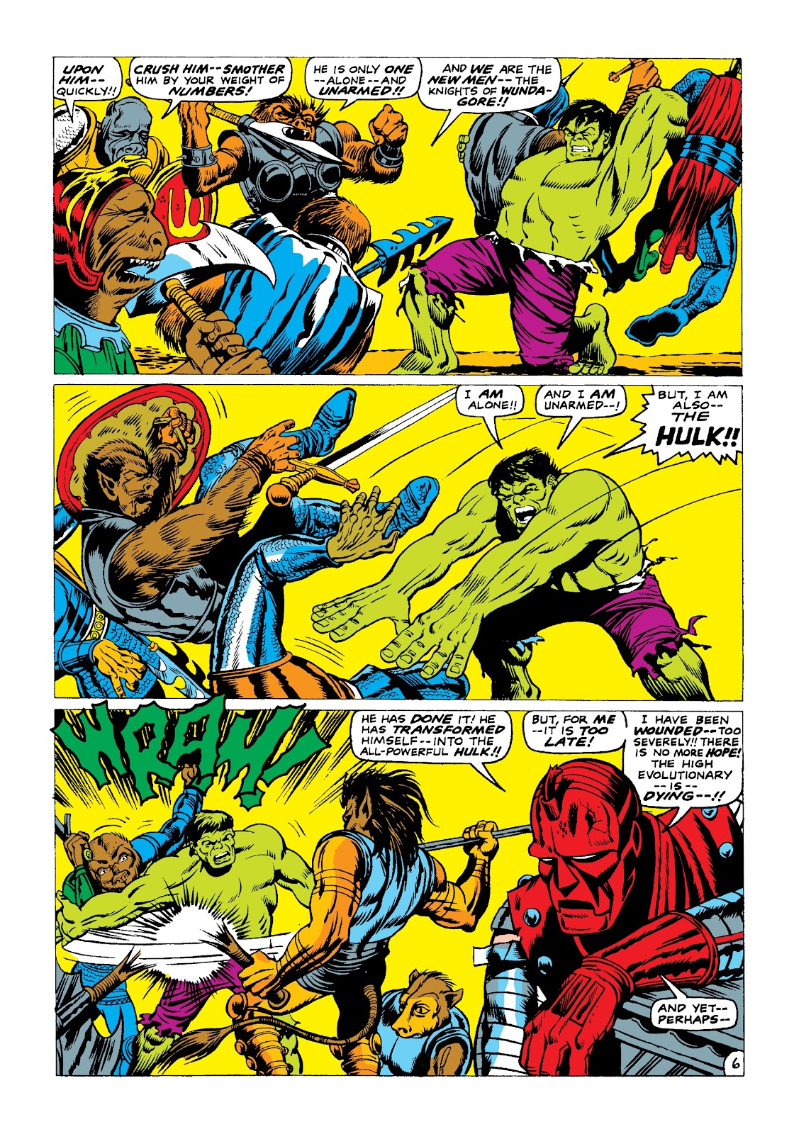 Read online Marvel Masterworks: The Incredible Hulk comic -  Issue # TPB 3 (Part 2) - 89