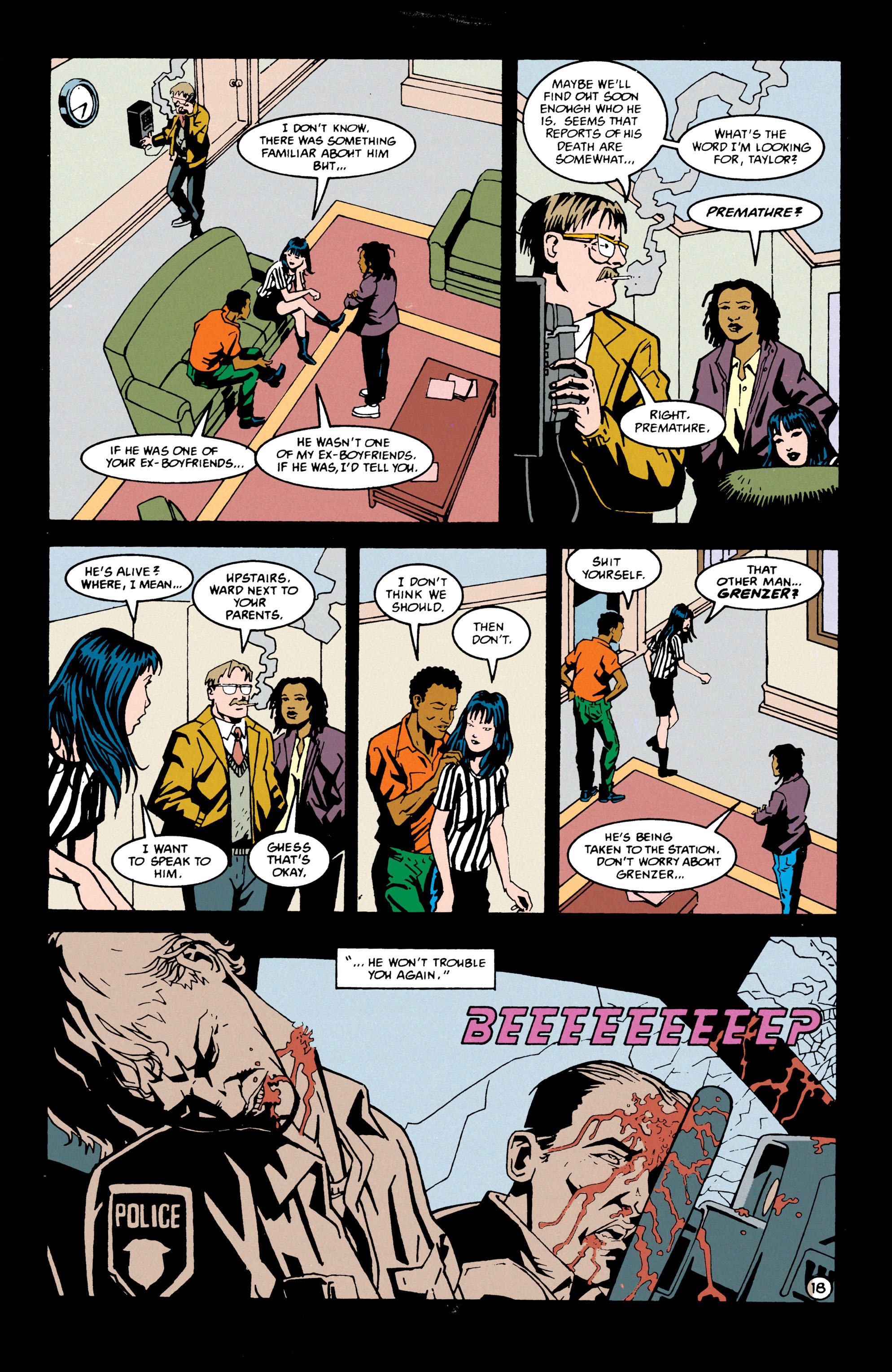 Read online Shade, the Changing Man comic -  Issue #69 - 19