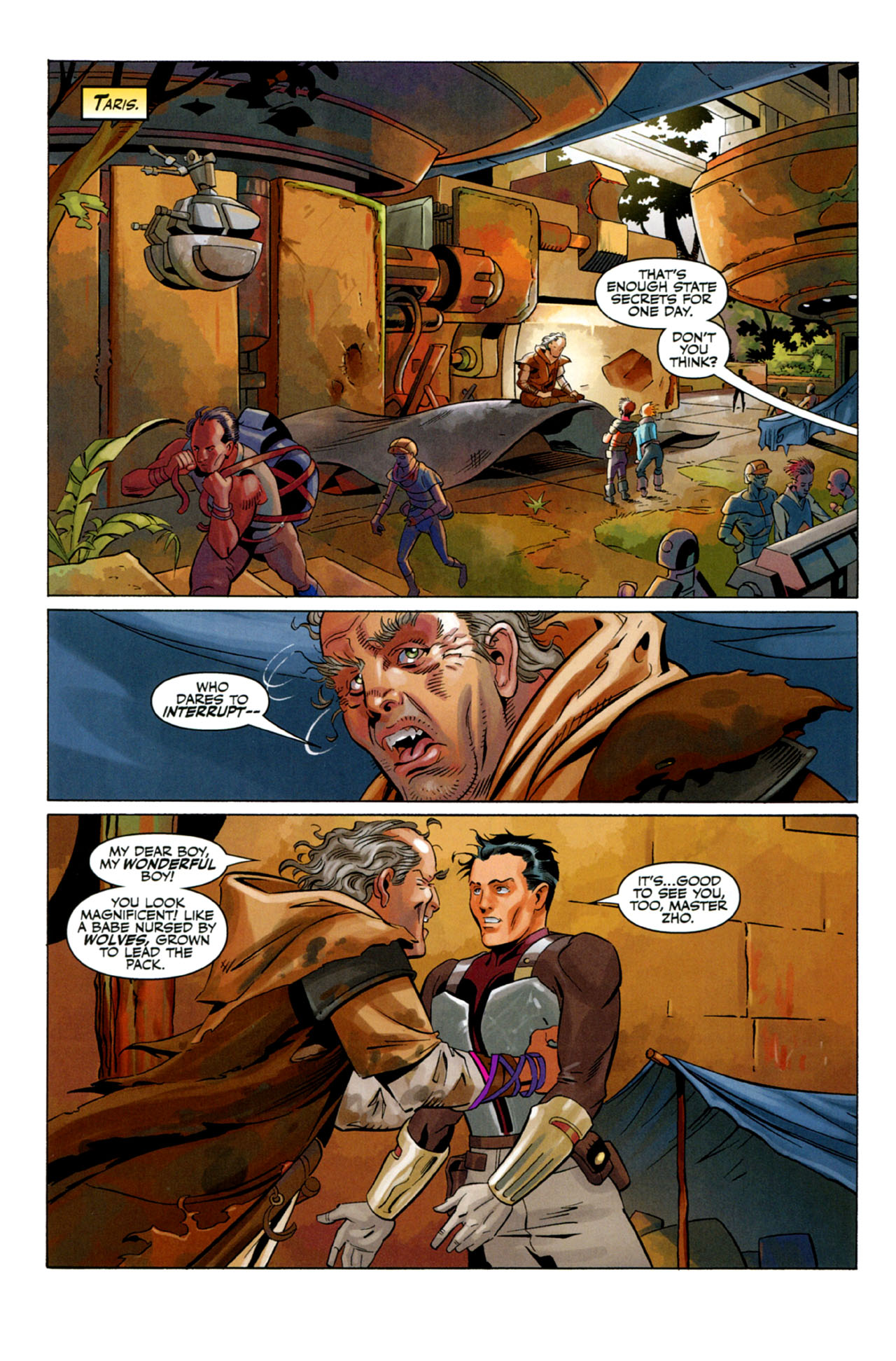 Read online Star Wars: The Old Republic - The Lost Suns comic -  Issue #2 - 6