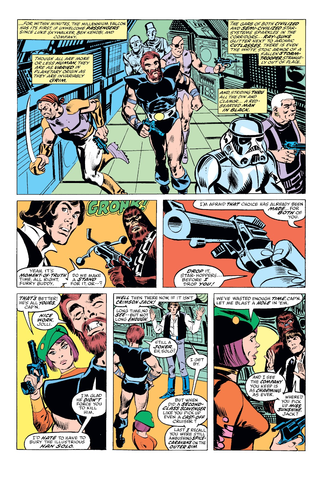Read online Star Wars Legends: The Original Marvel Years - Epic Collection comic -  Issue # TPB 1 (Part 2) - 22
